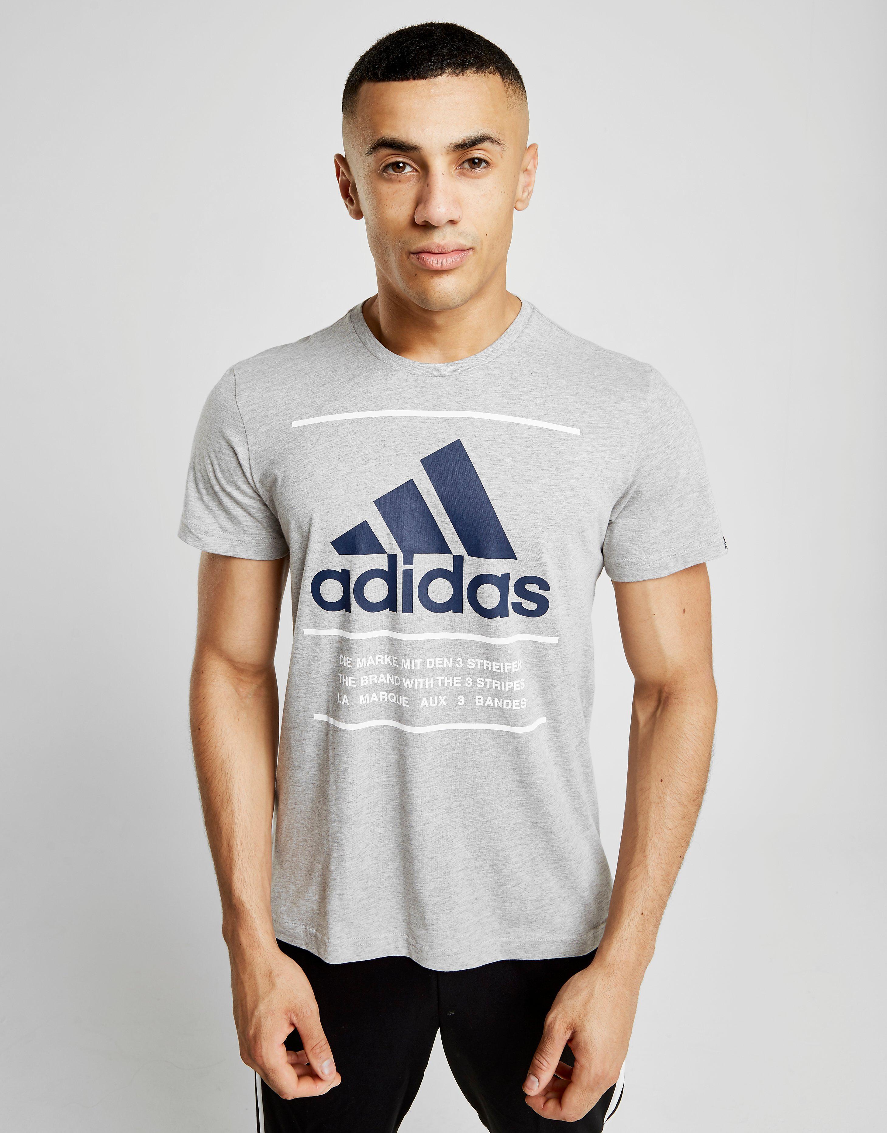 adidas 3 Lines T-Shirt Heren