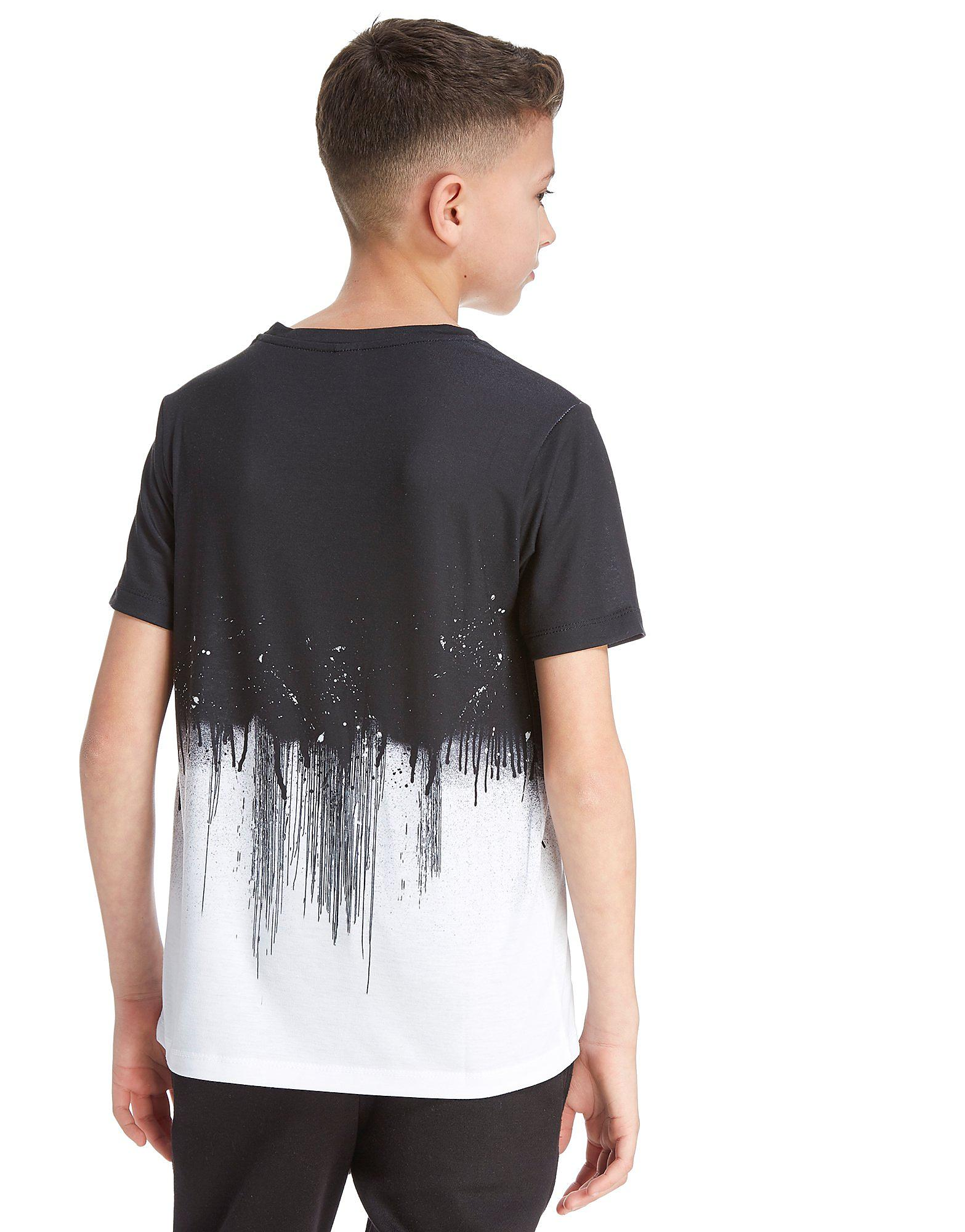 Hype Half Drip T-Shirt Junior