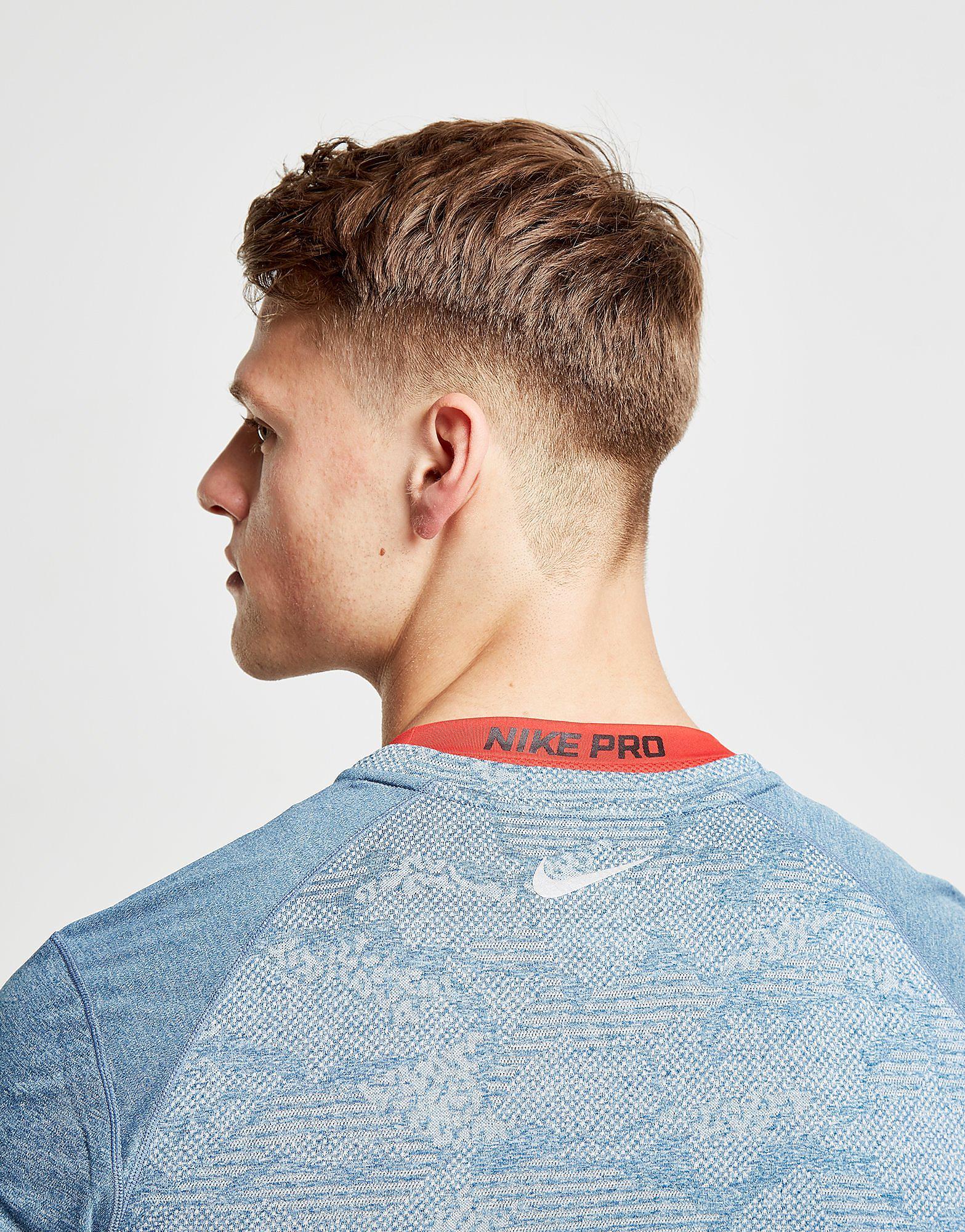 Nike Miler Print T-Shirt Heren