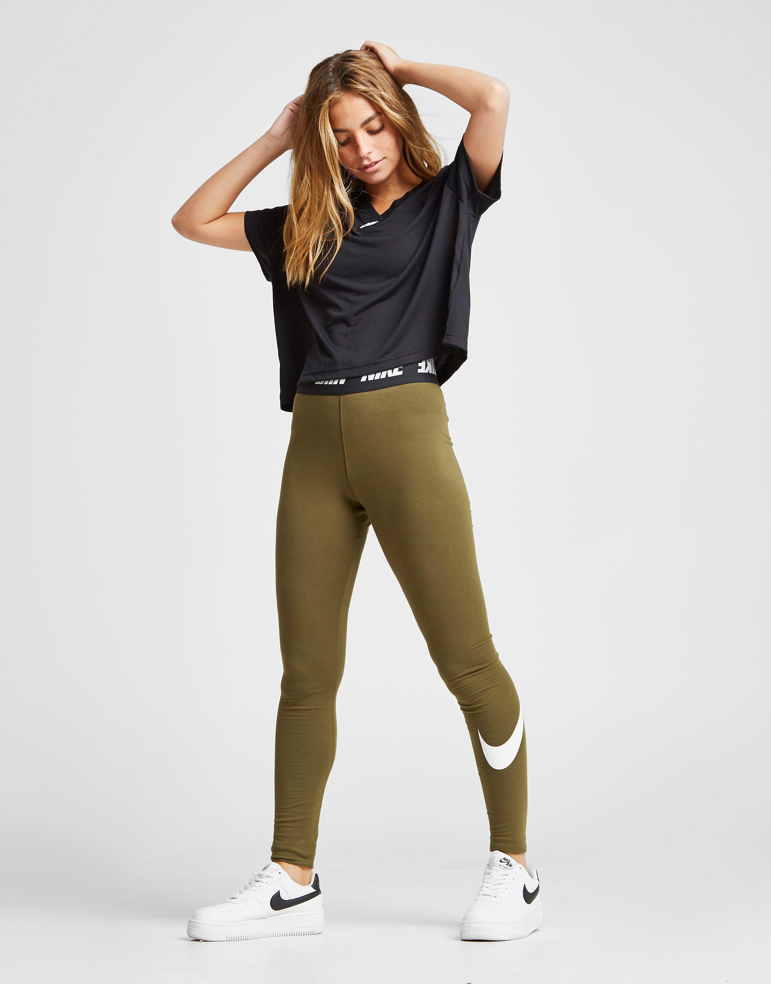 Nike Crop V T-Shirt Dames