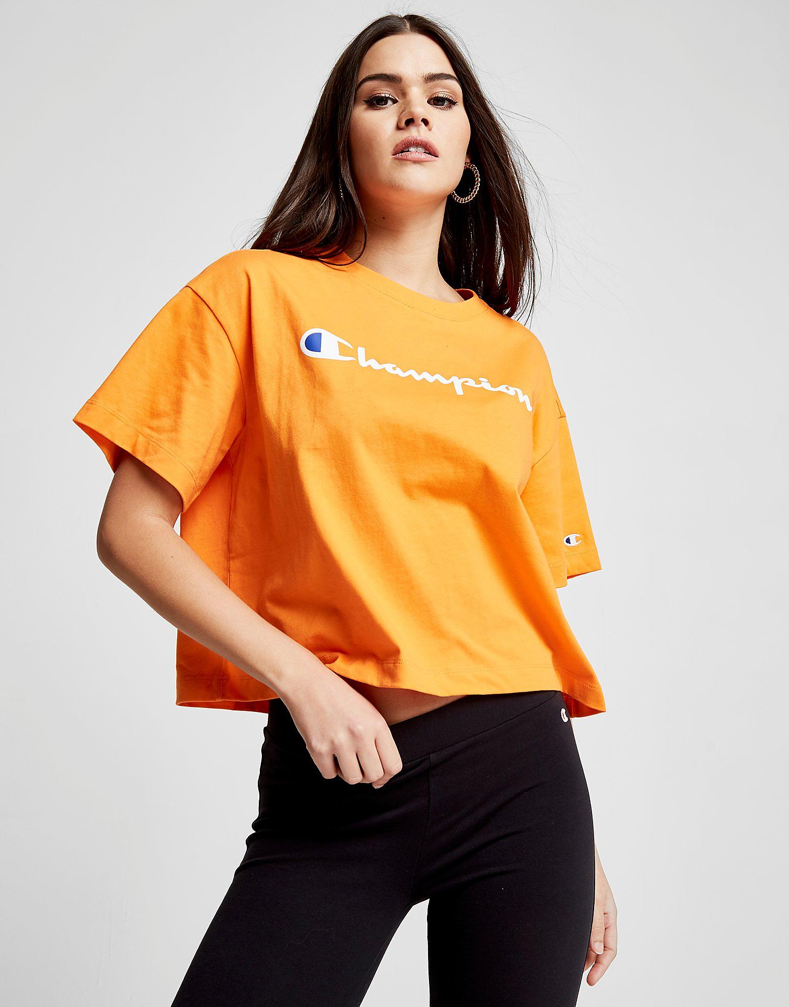 Champion Script Boxy T-Shirt Dames