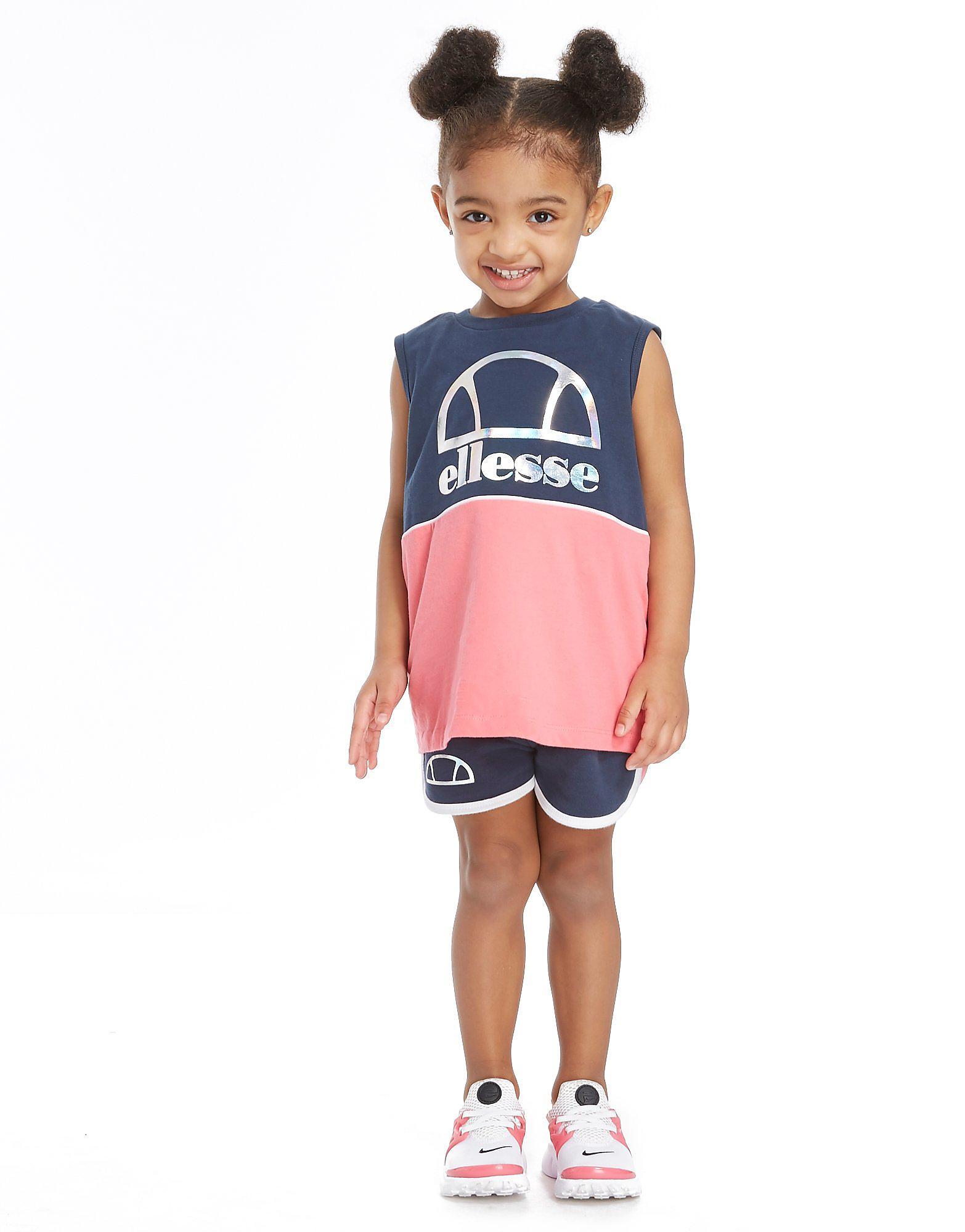 Ellesse Girls' Felice Tank/Short Set Kinderen