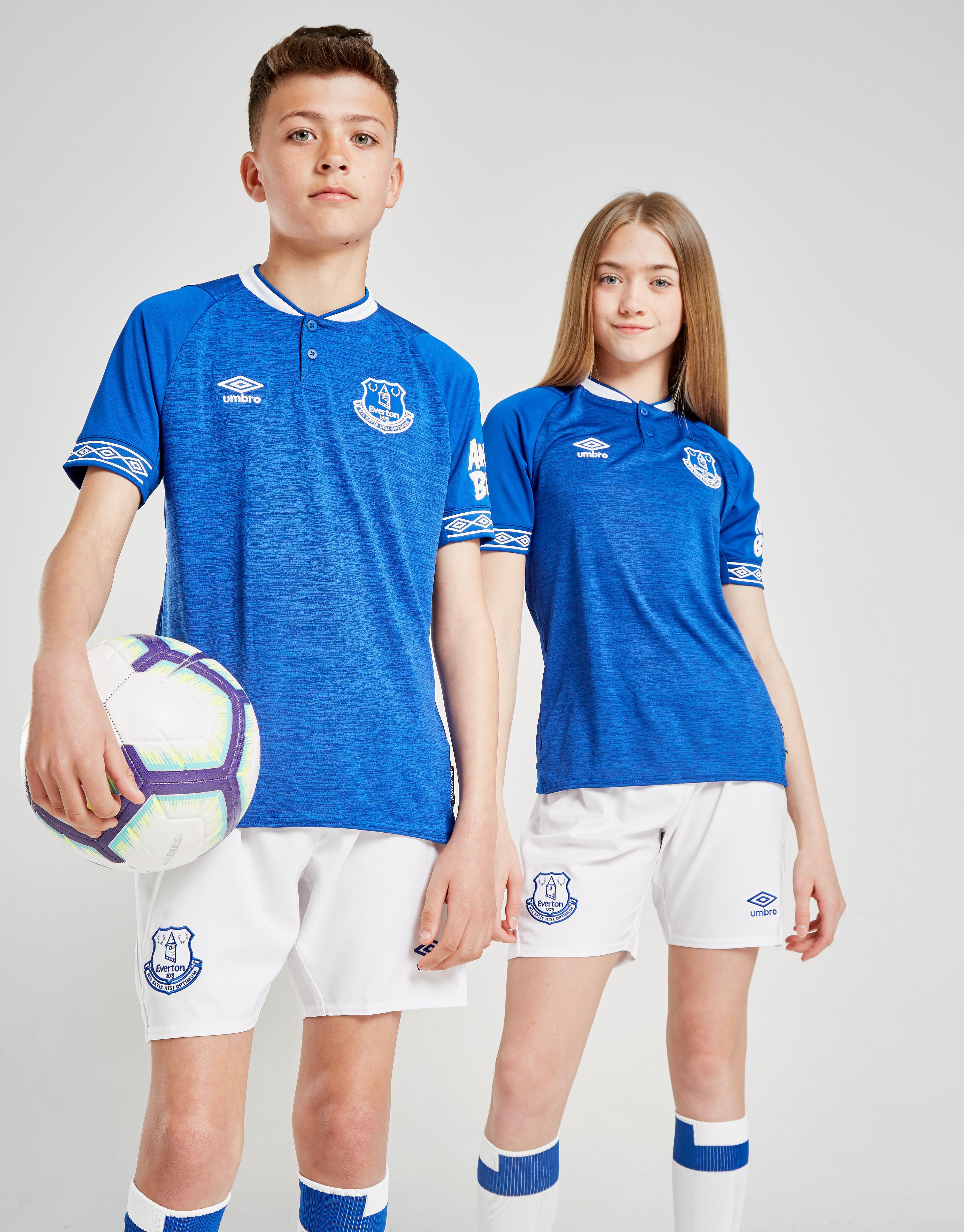Umbro Everton FC 2018/19 Home Shirt Junior