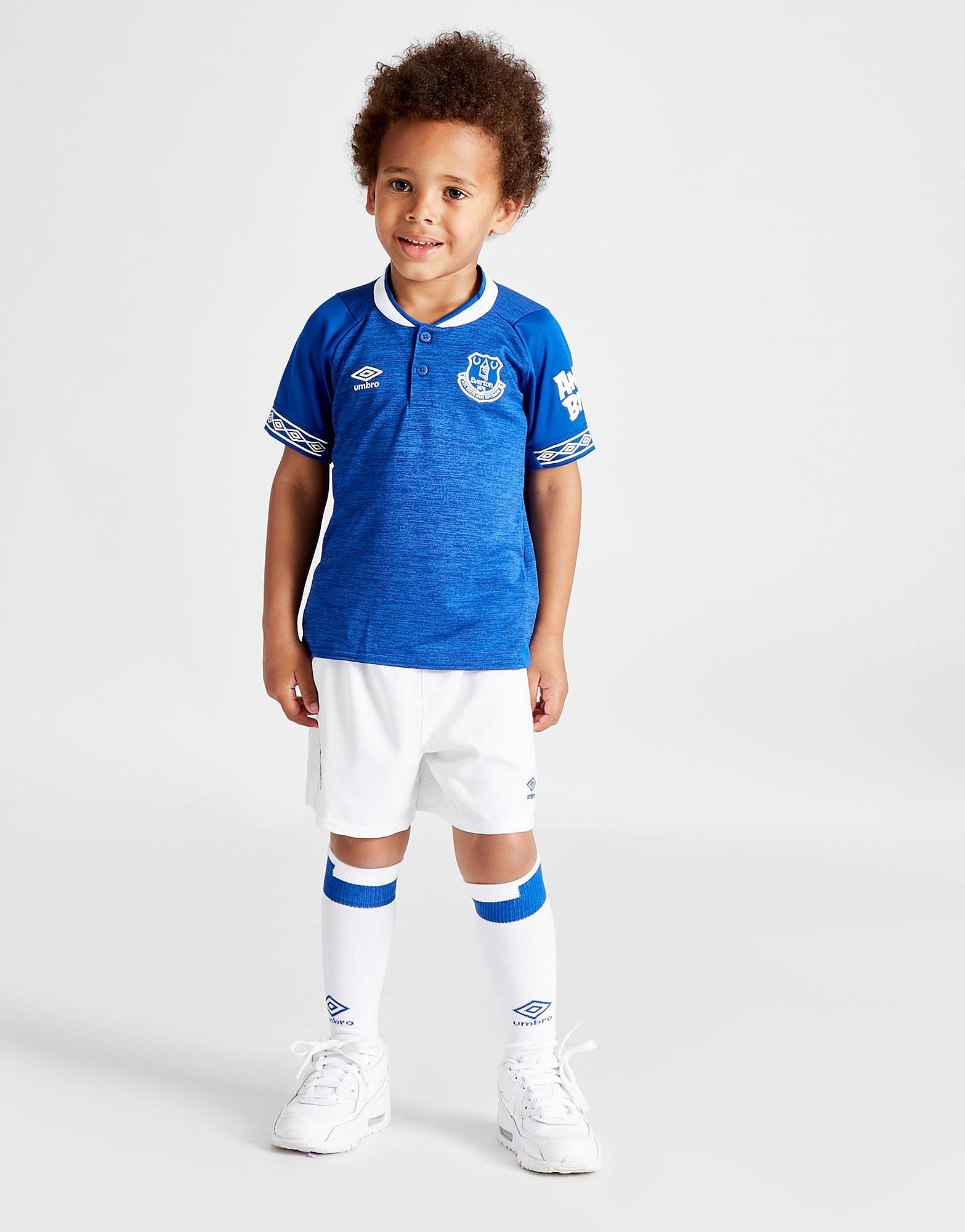 Umbro Everton FC 2018/19 Home Kit Kinderen