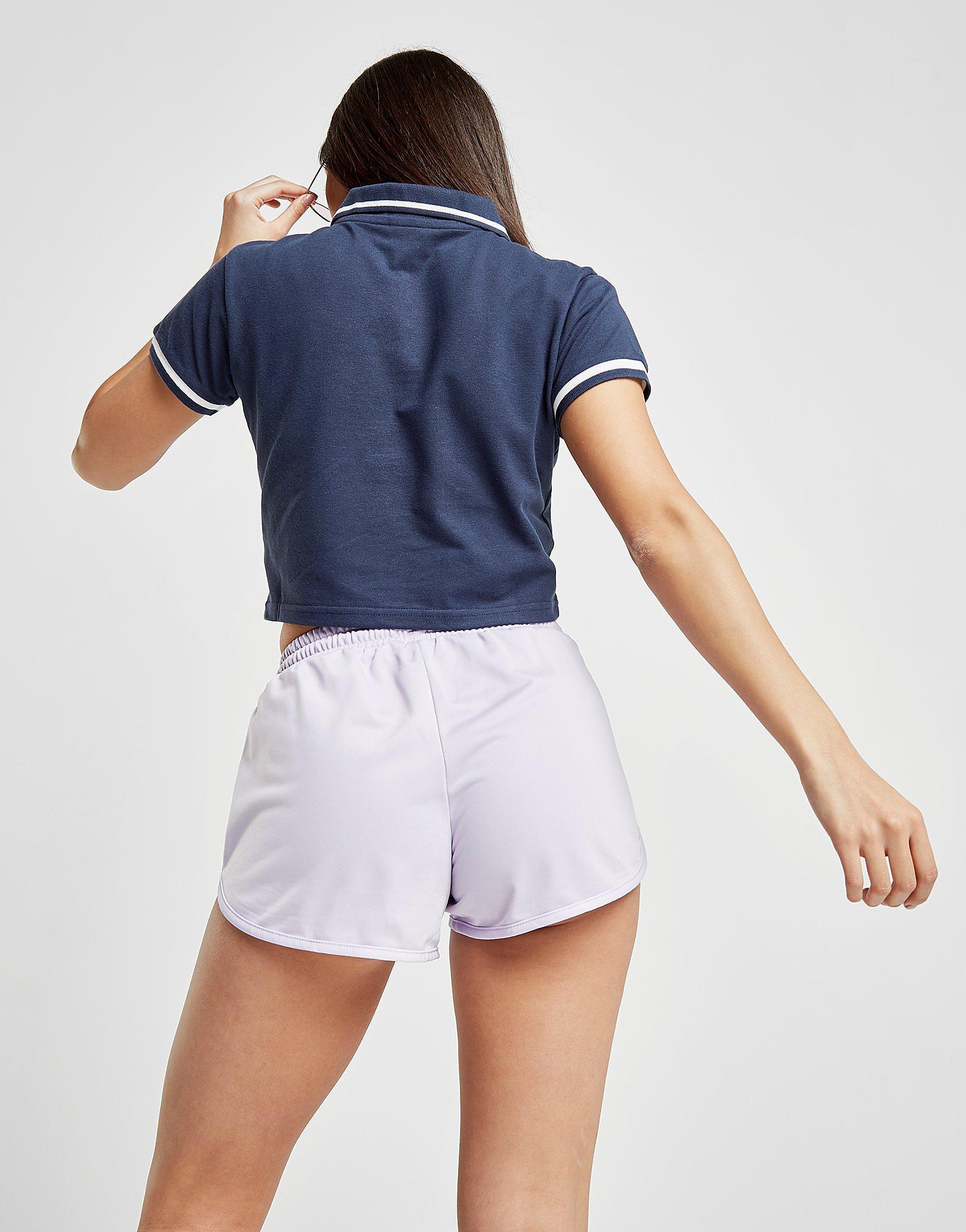 Ellesse Zip Pique Polo Shirt Dames