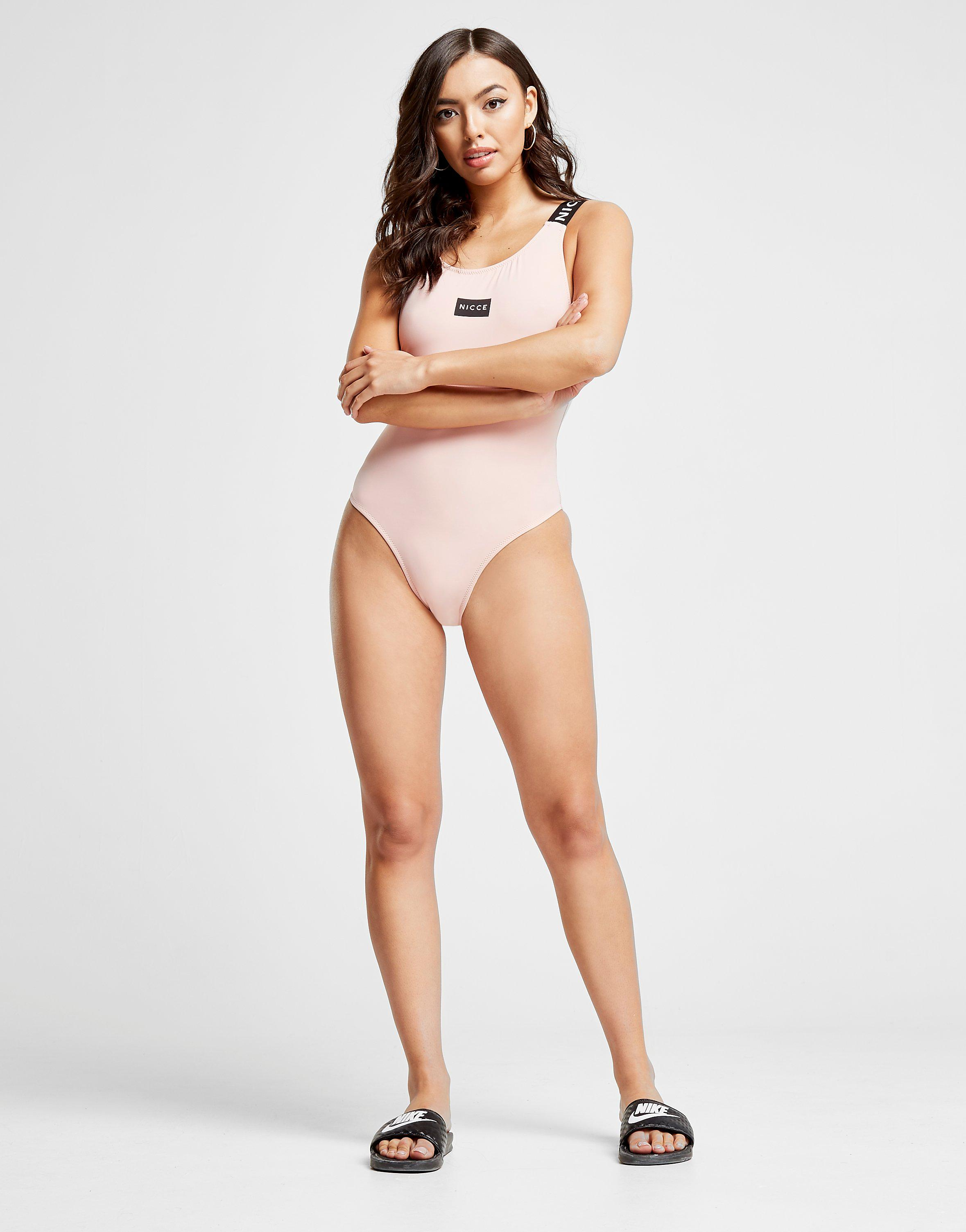 Nicce Tape Swimsuit Dames