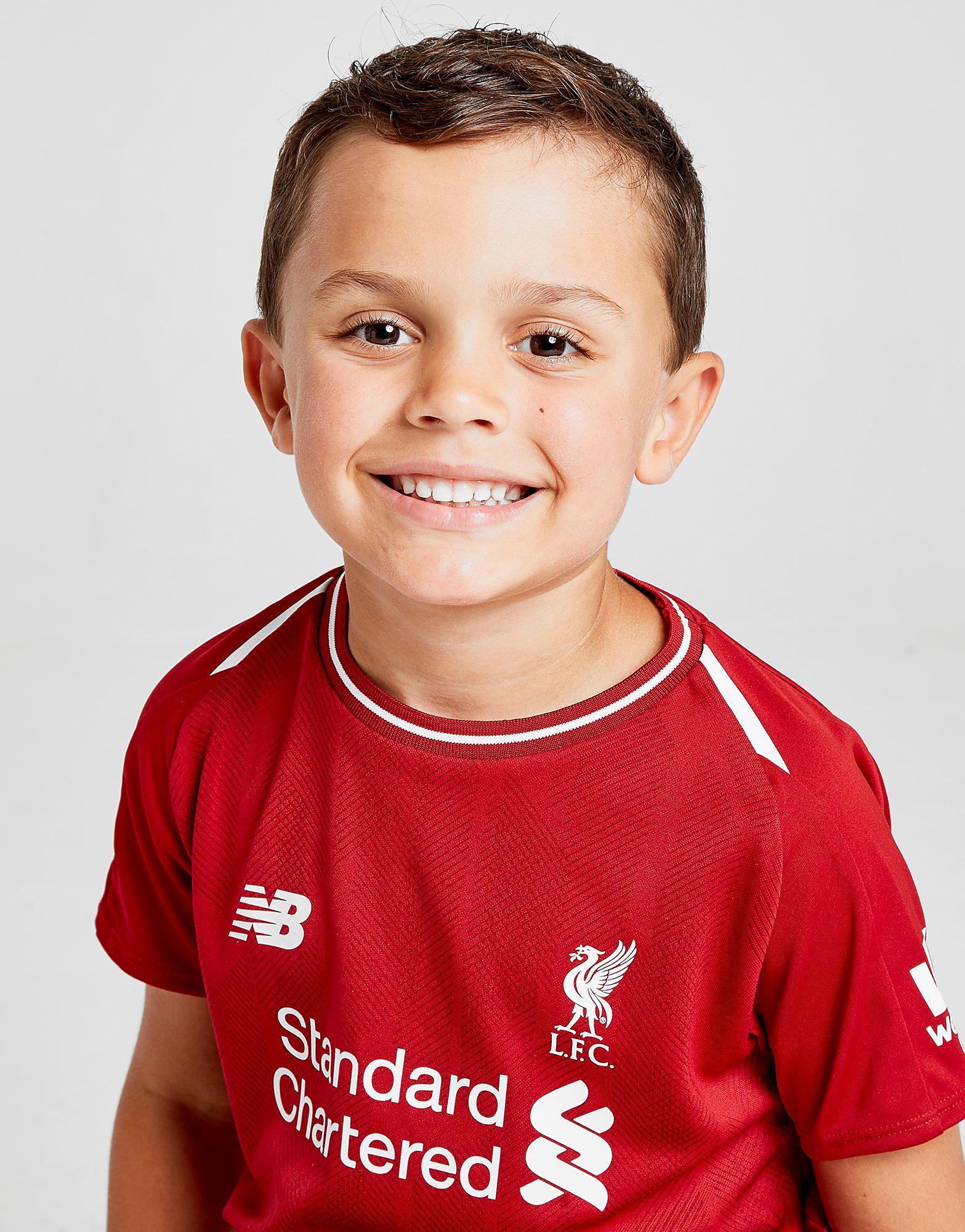 New Balance Liverpool FC 2018 Home Kit Kinderen