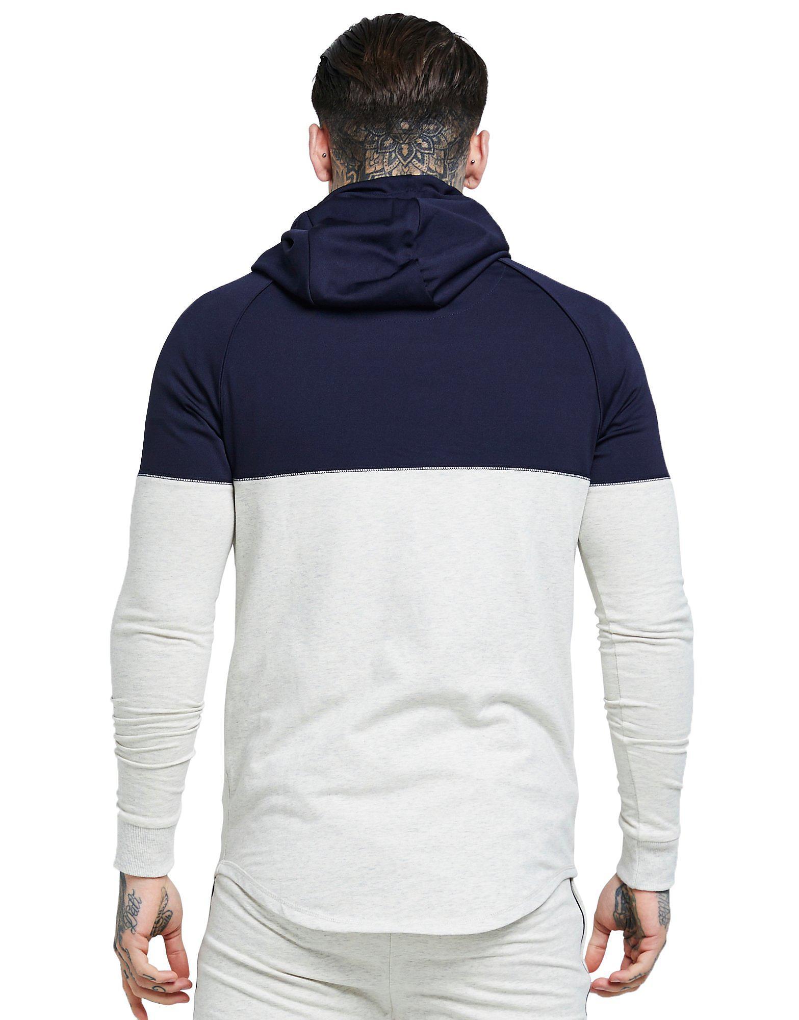 SikSilk Zip Through Hybrid Hoodie