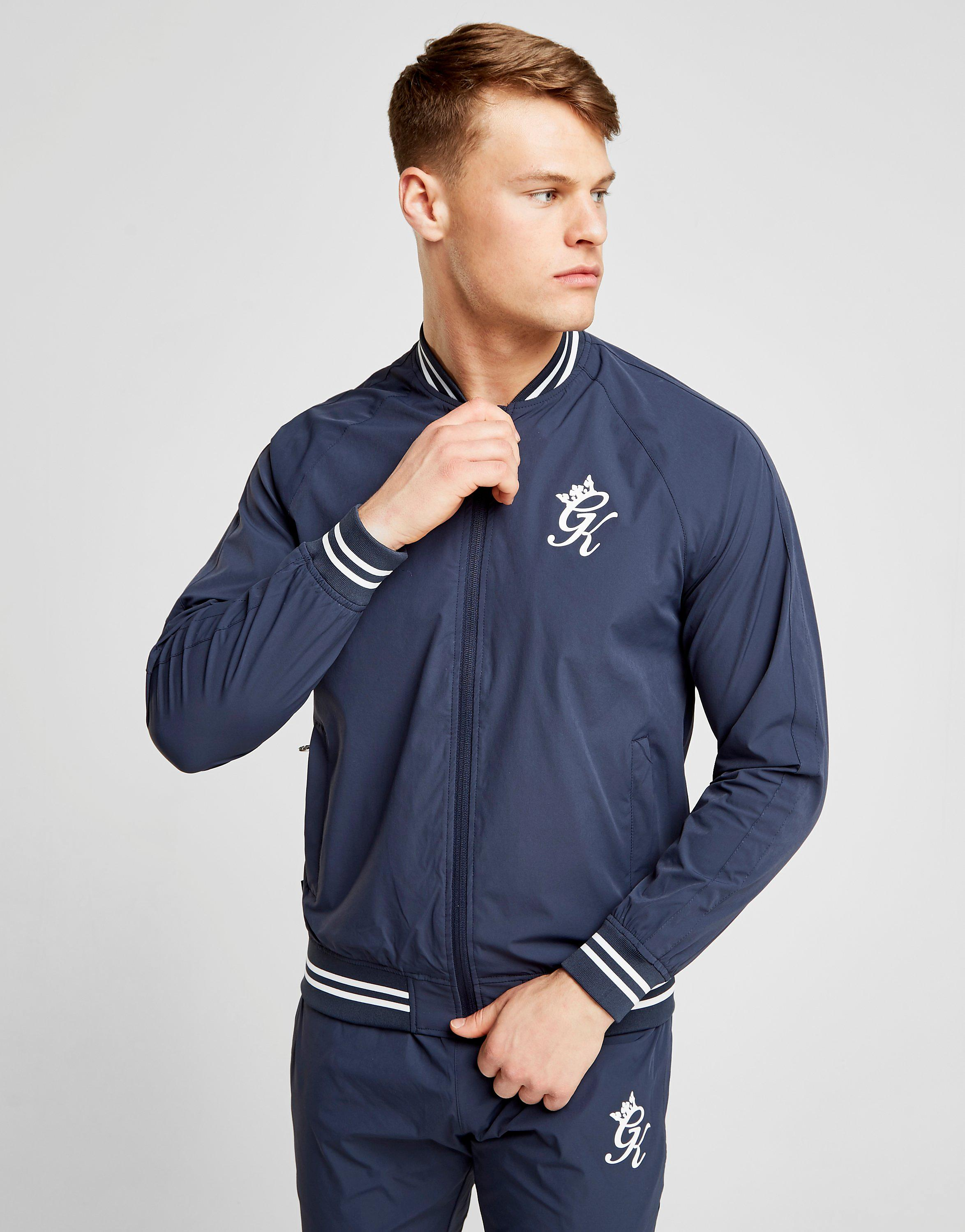 Gym King Woven Bomber Track Top