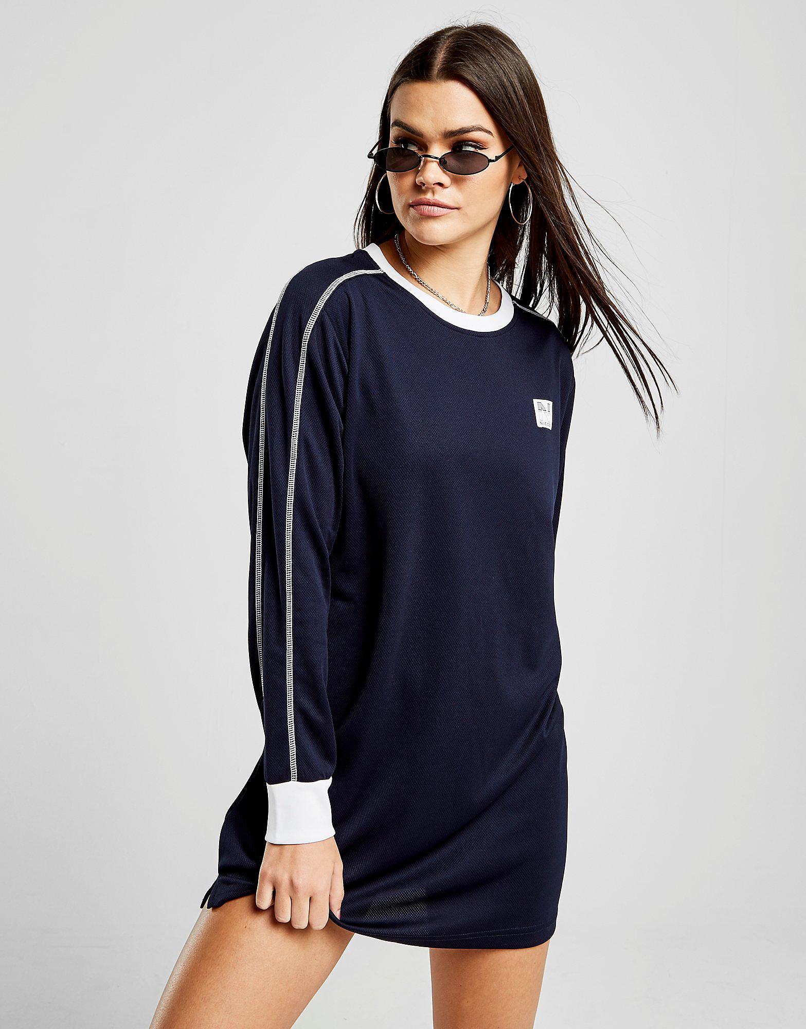 Nicce Contrast Long Sleeve T-Shirt
