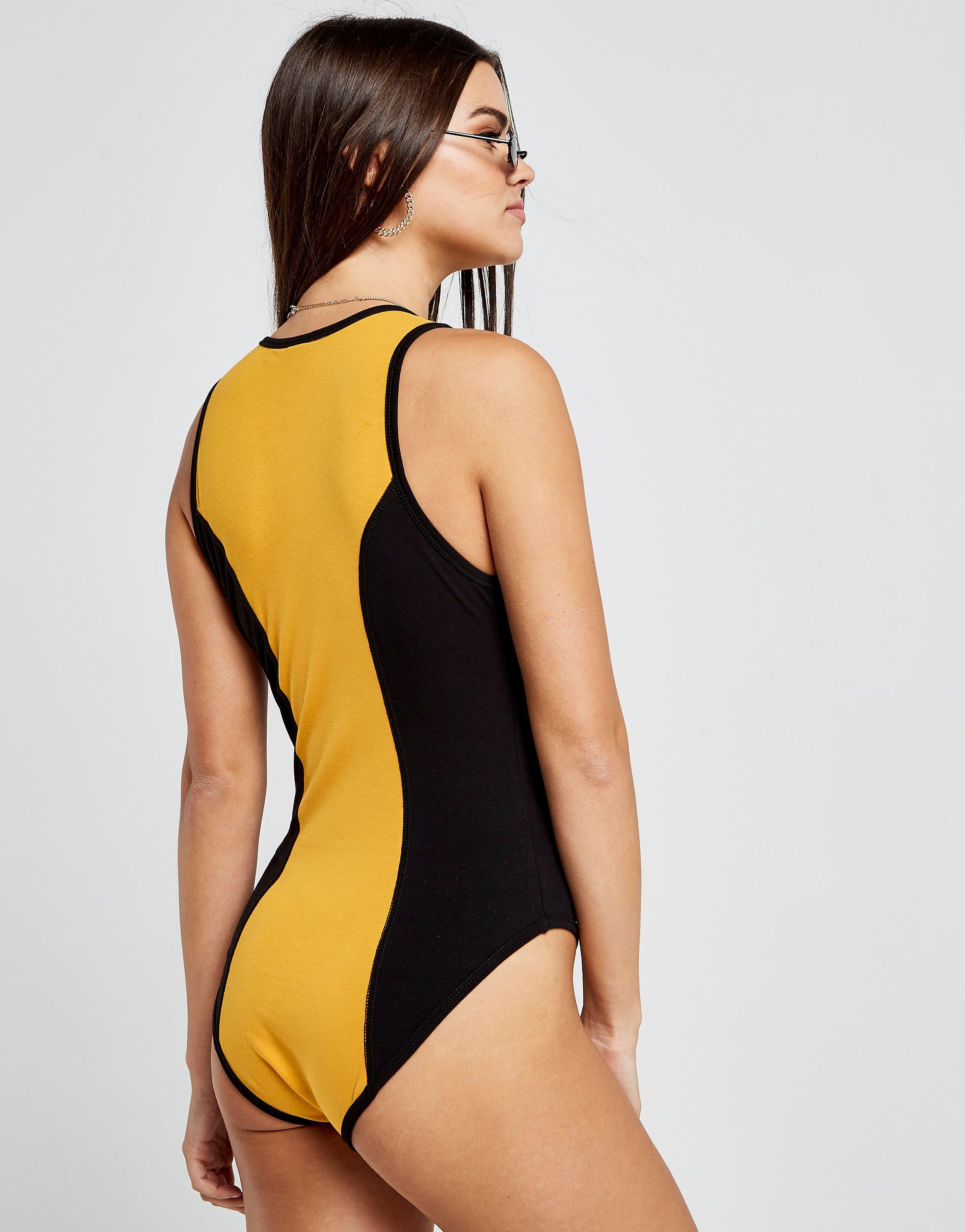 Nicce Colour Block Logo Bodysuit