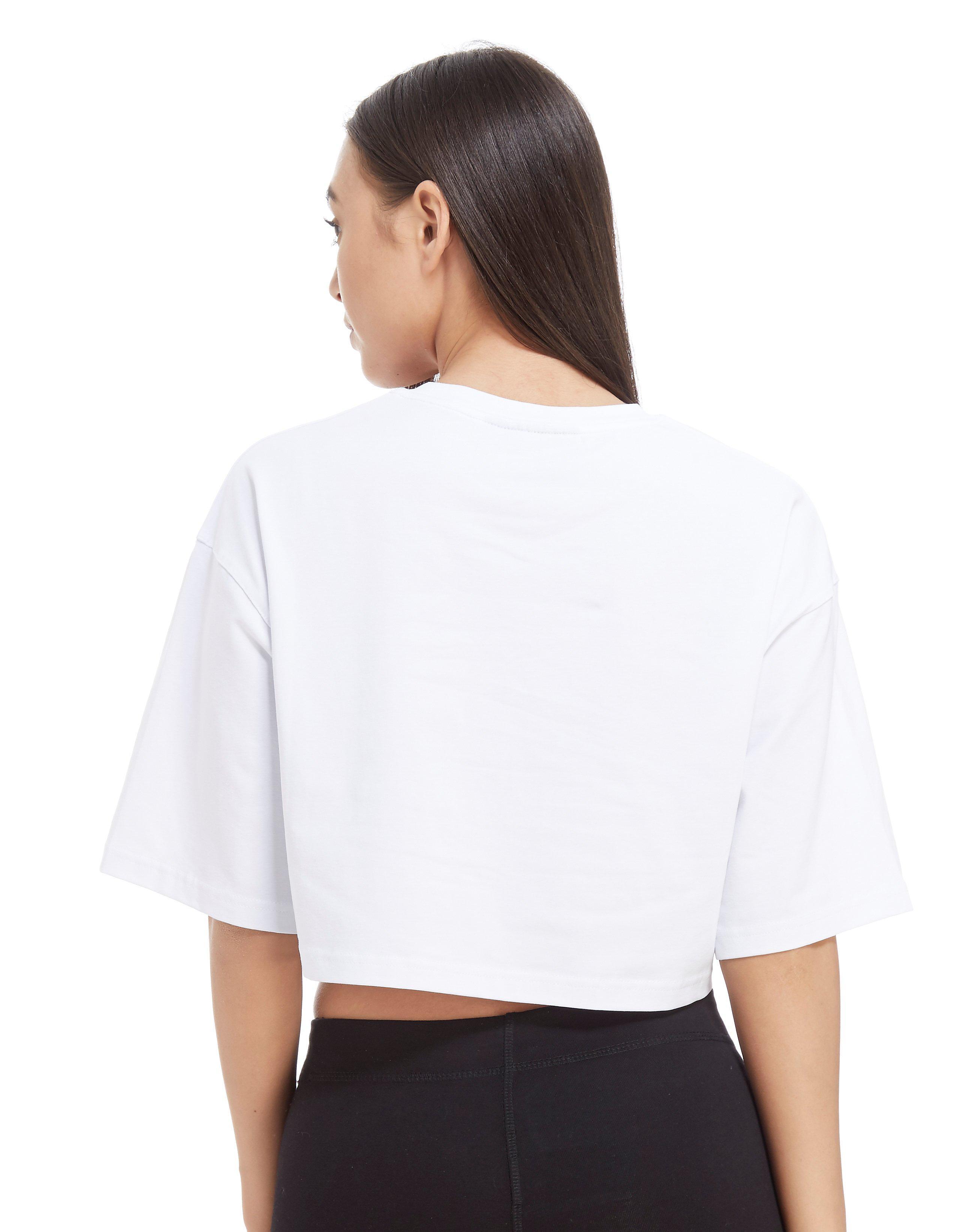 Gym King Logo Crop T-Shirt Dames