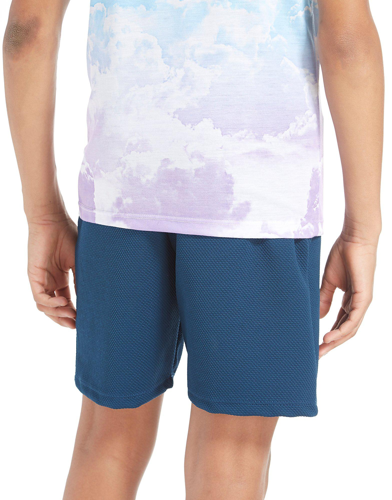 Hype Textured Poly Shorts Junior