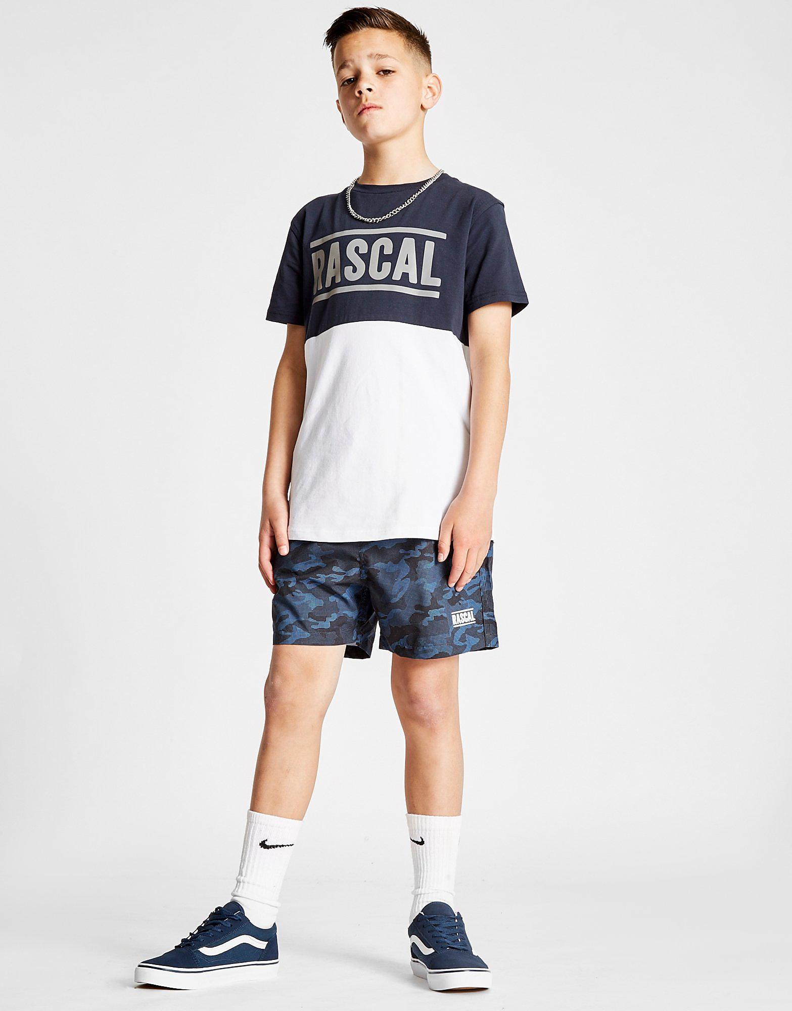 Rascal Camo Print Swim Shorts Junior