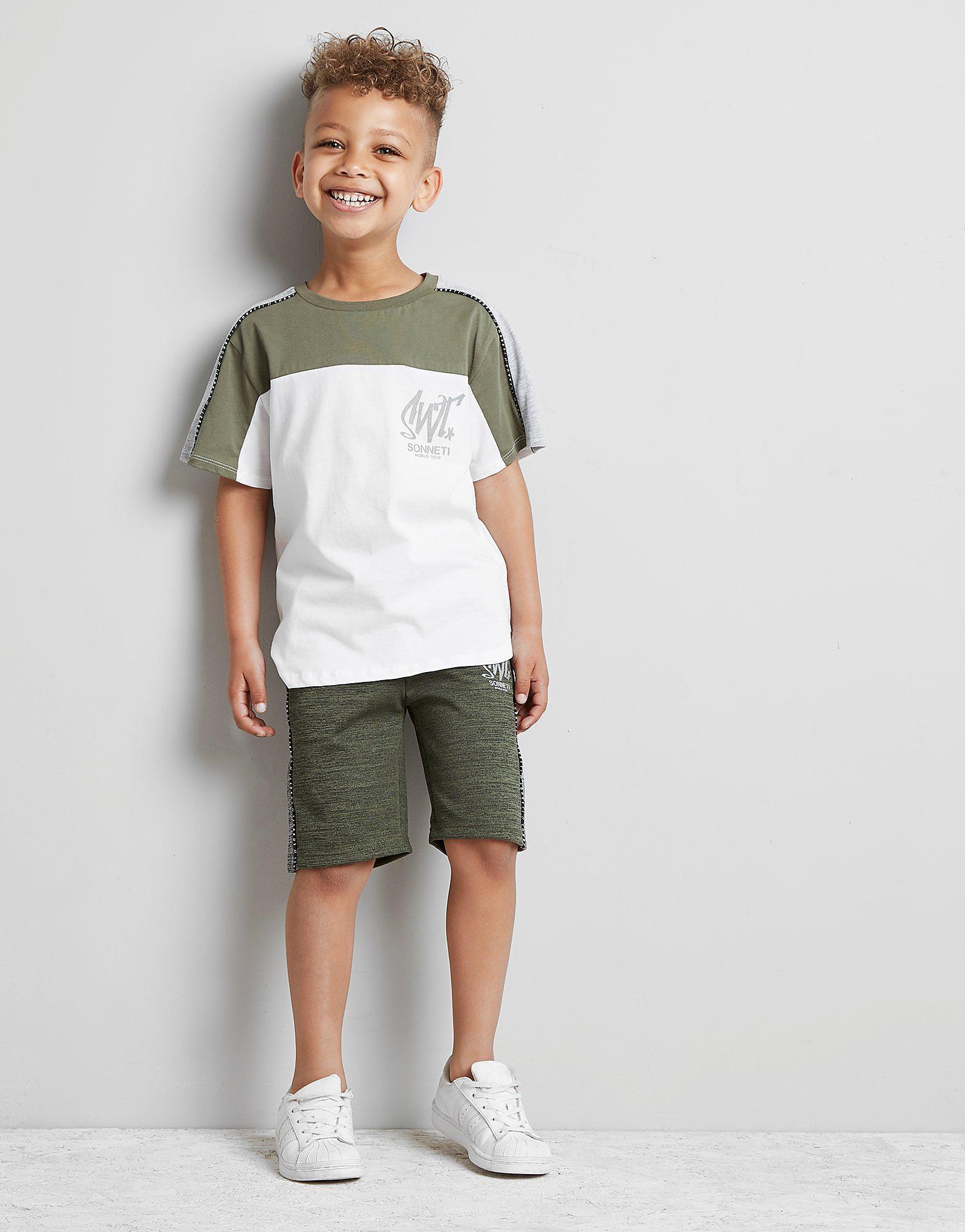 Sonneti Mini Como Poly Mix T-Shirt Children