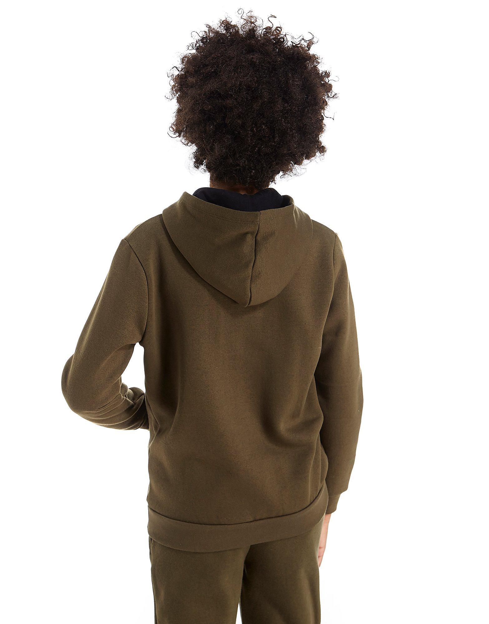 Hype Flock-hættetrøje med lynlås junior