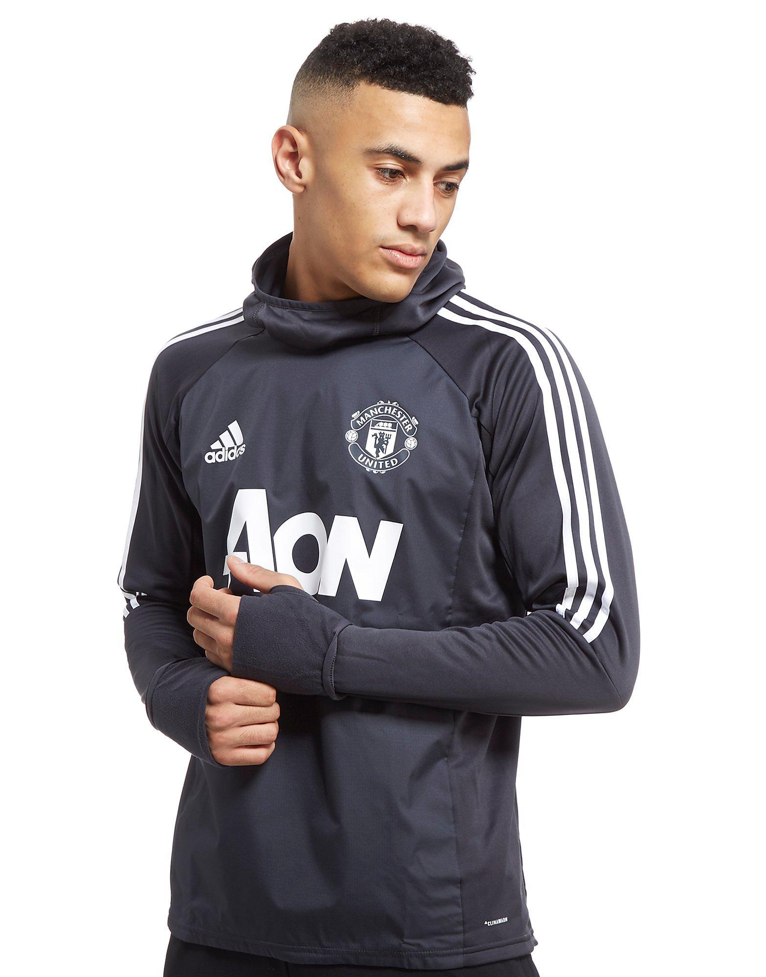 adidas Manchester United 2017 Training Hoodie Heren