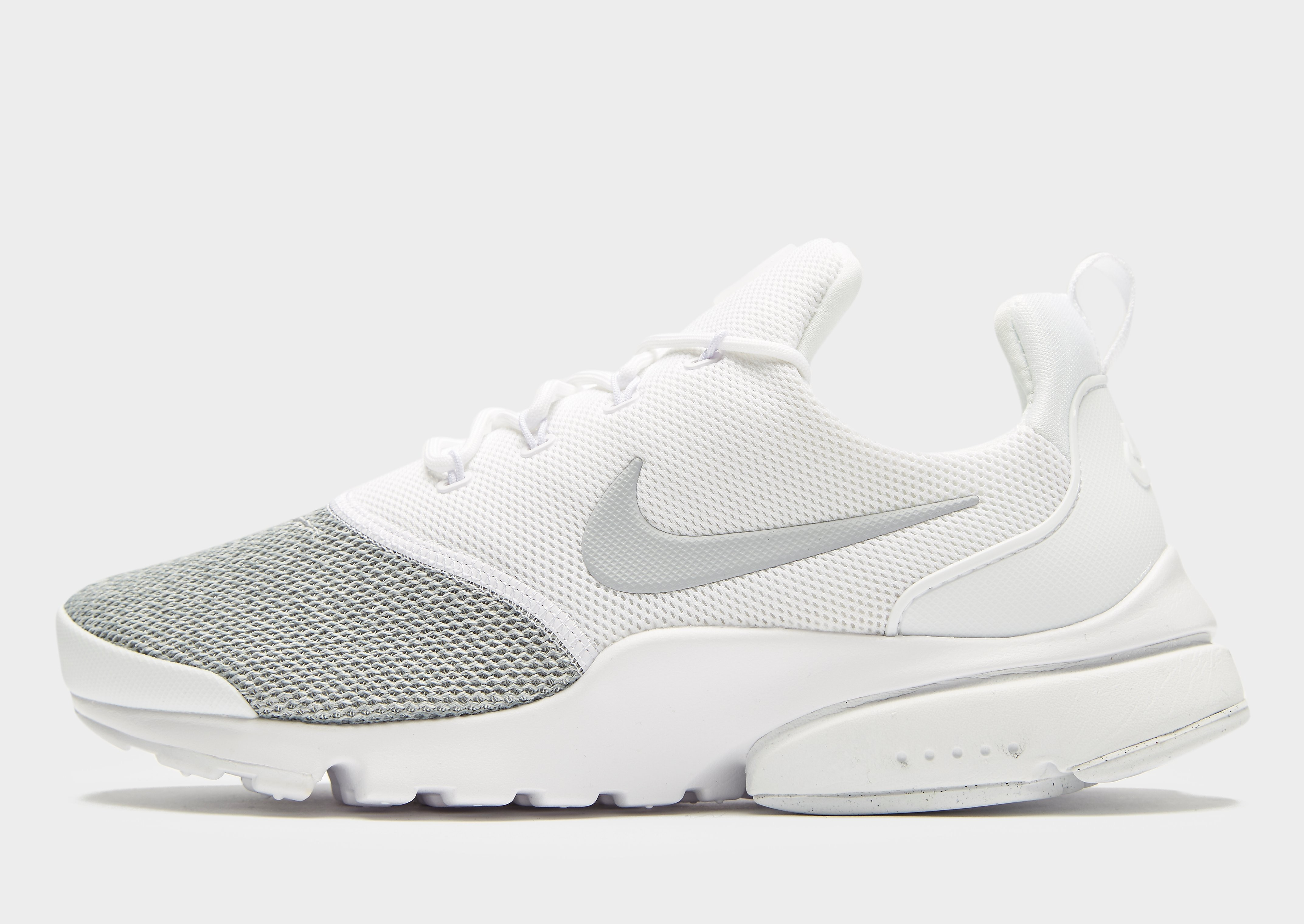 Nike Air Presto Fly SE Damen Weiß-Grau