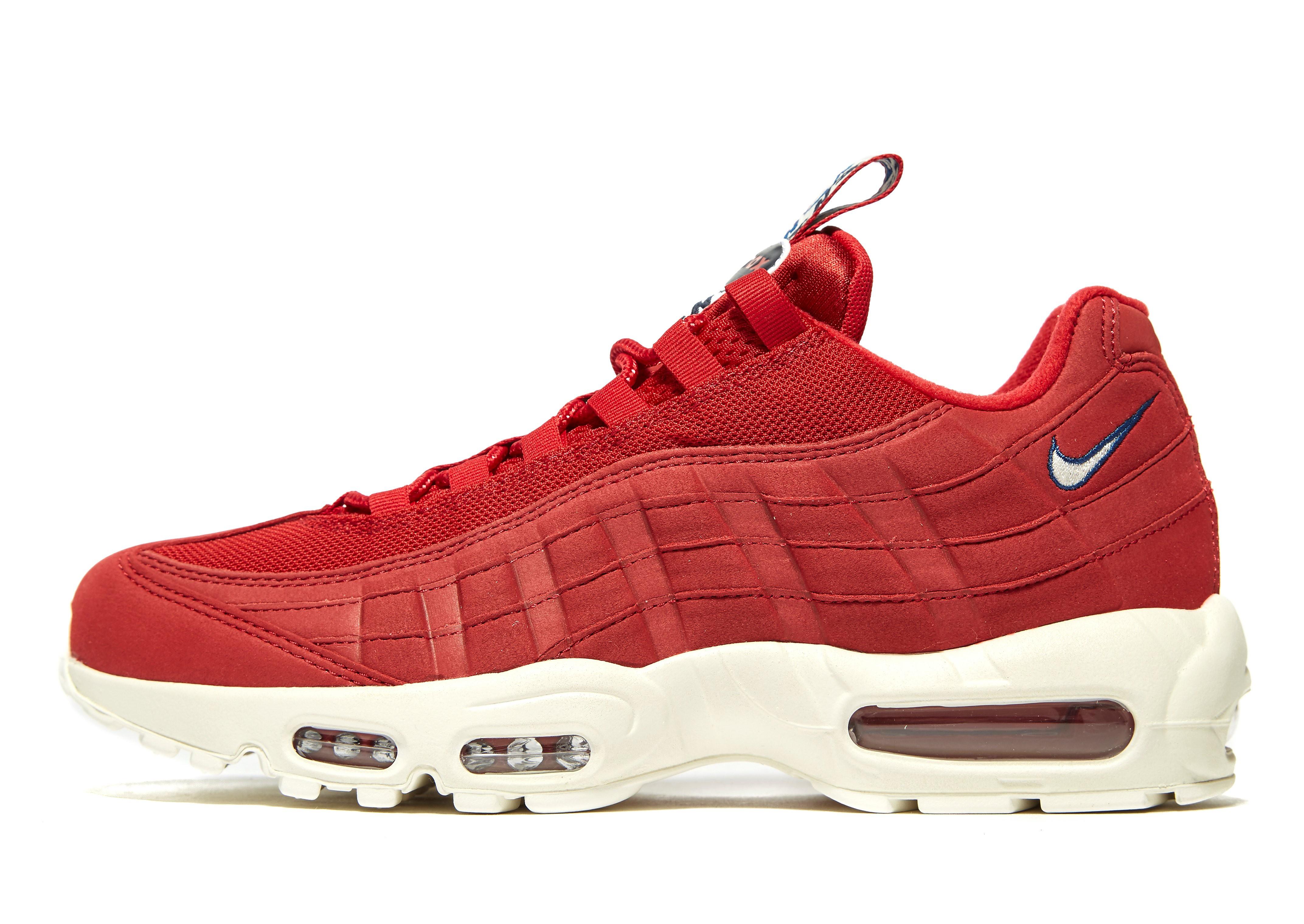 Nike Air Max 95 'Taped' Rot-Weiß