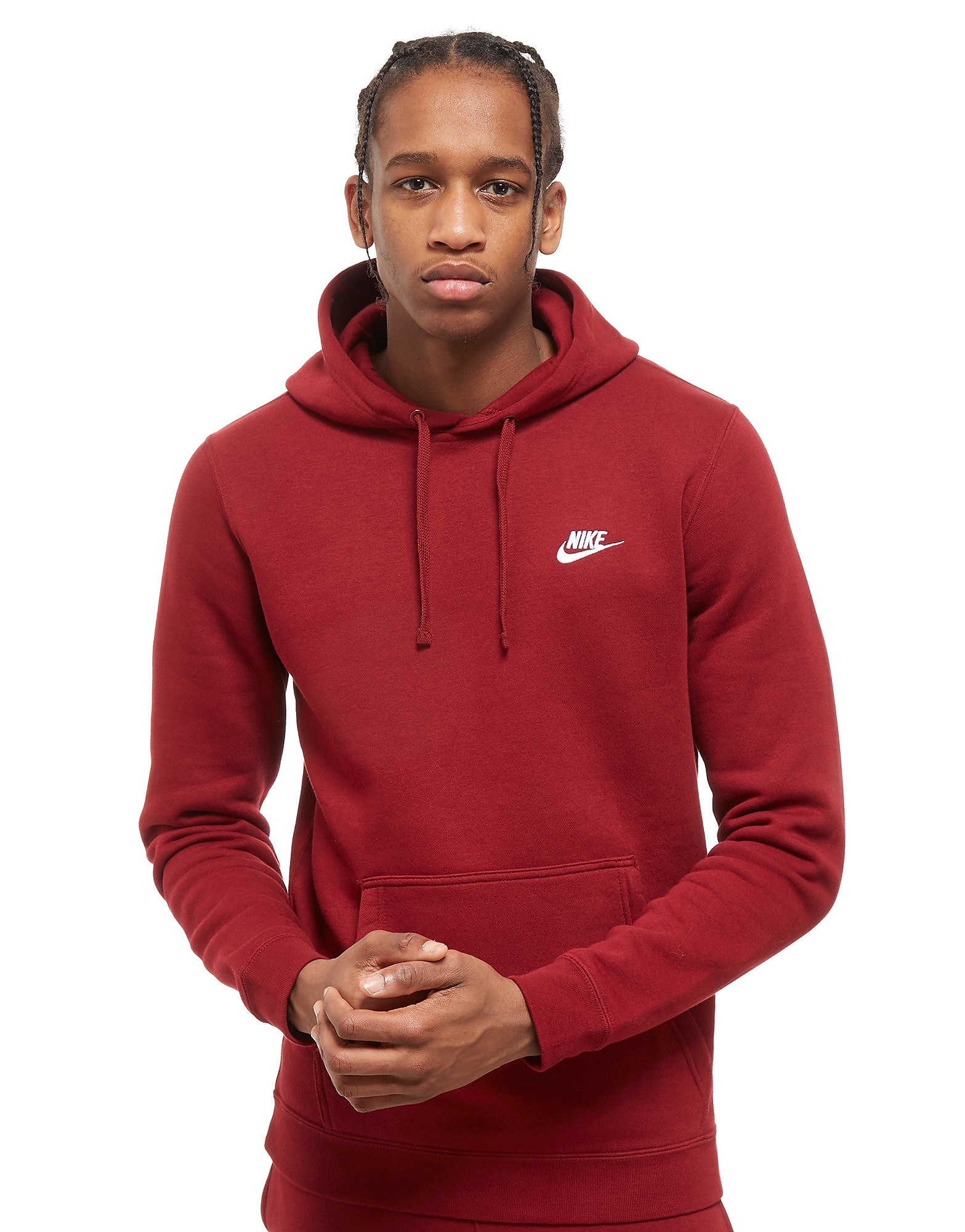 Nike Foundation Kapuzenpullover Rot