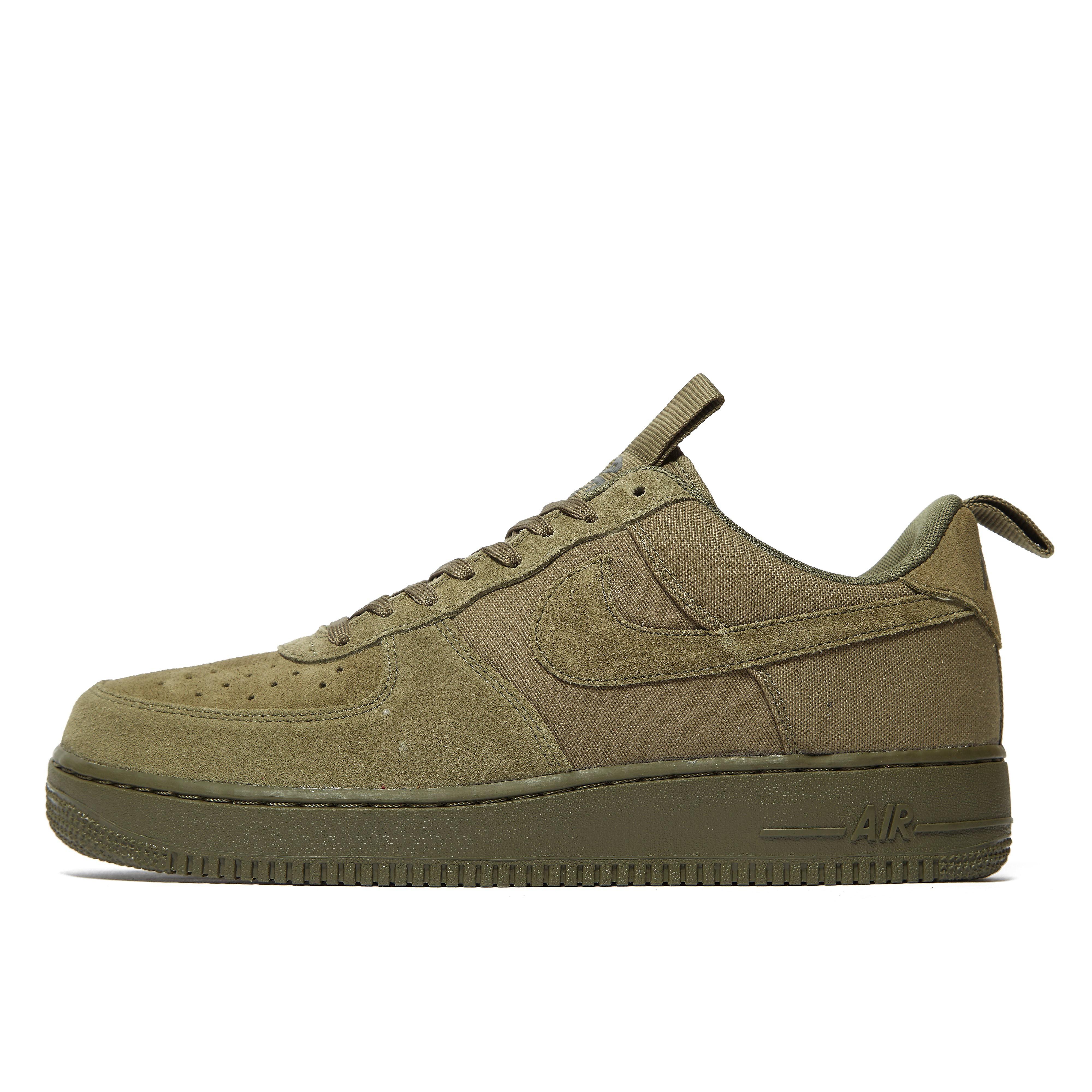 Nike Air Force 1 Canvas Olivgrün