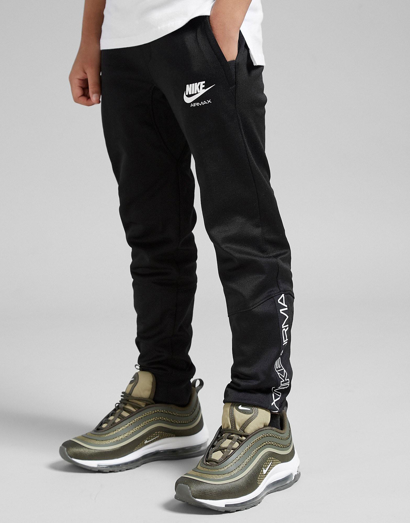 Nike Air Max Hosen Junior Schwarz-Weiß