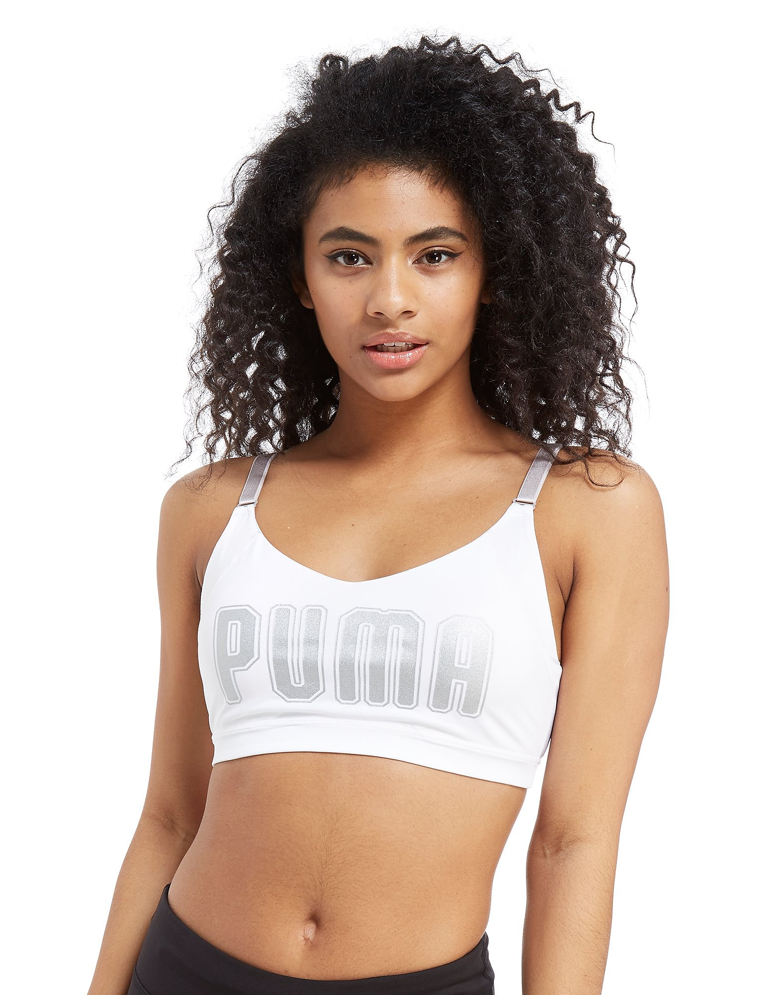 PUMA En Pointe Logo Sports Bra