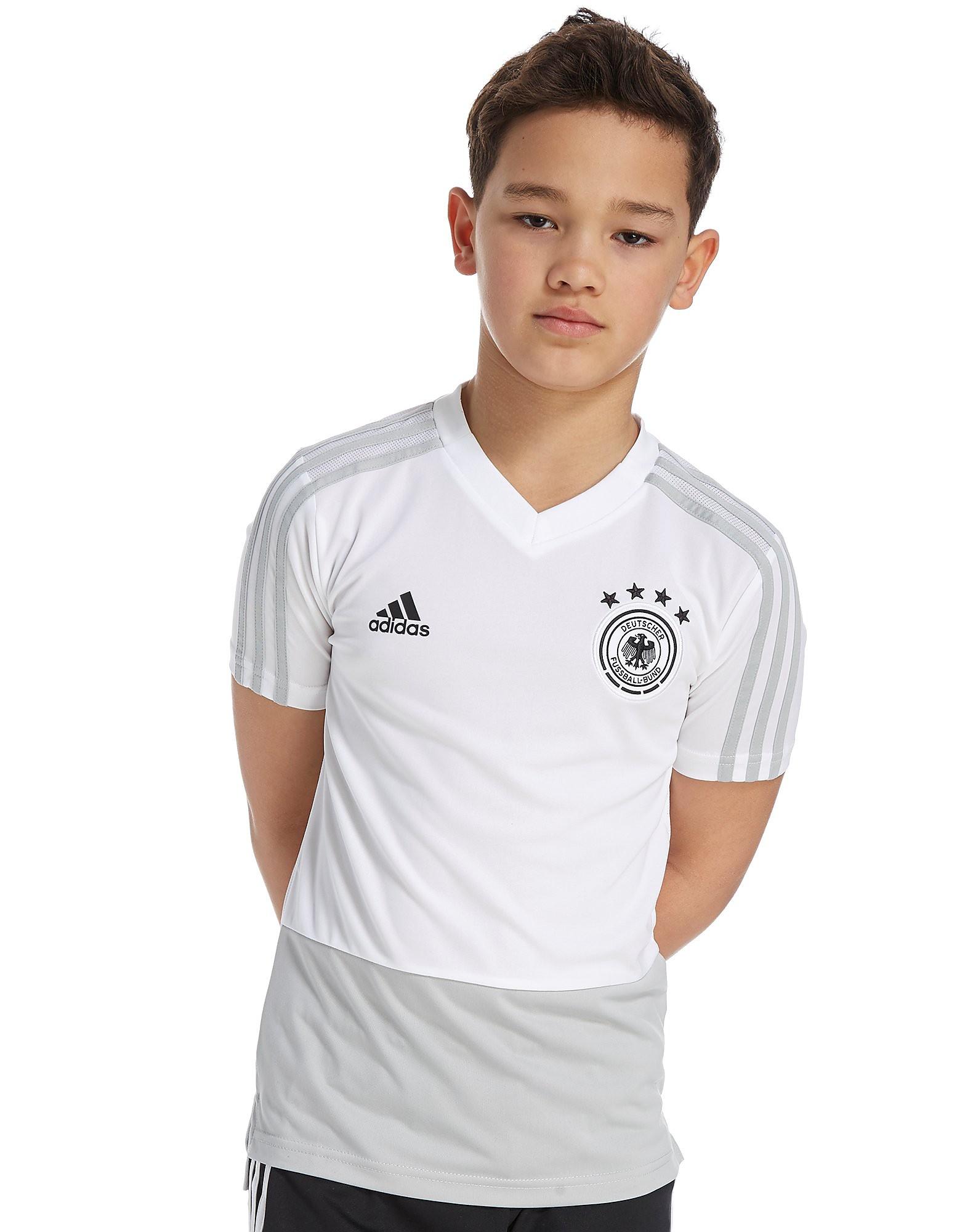 adidas DFB Deutschland 2018 Trainingstrikot Junior Weiß