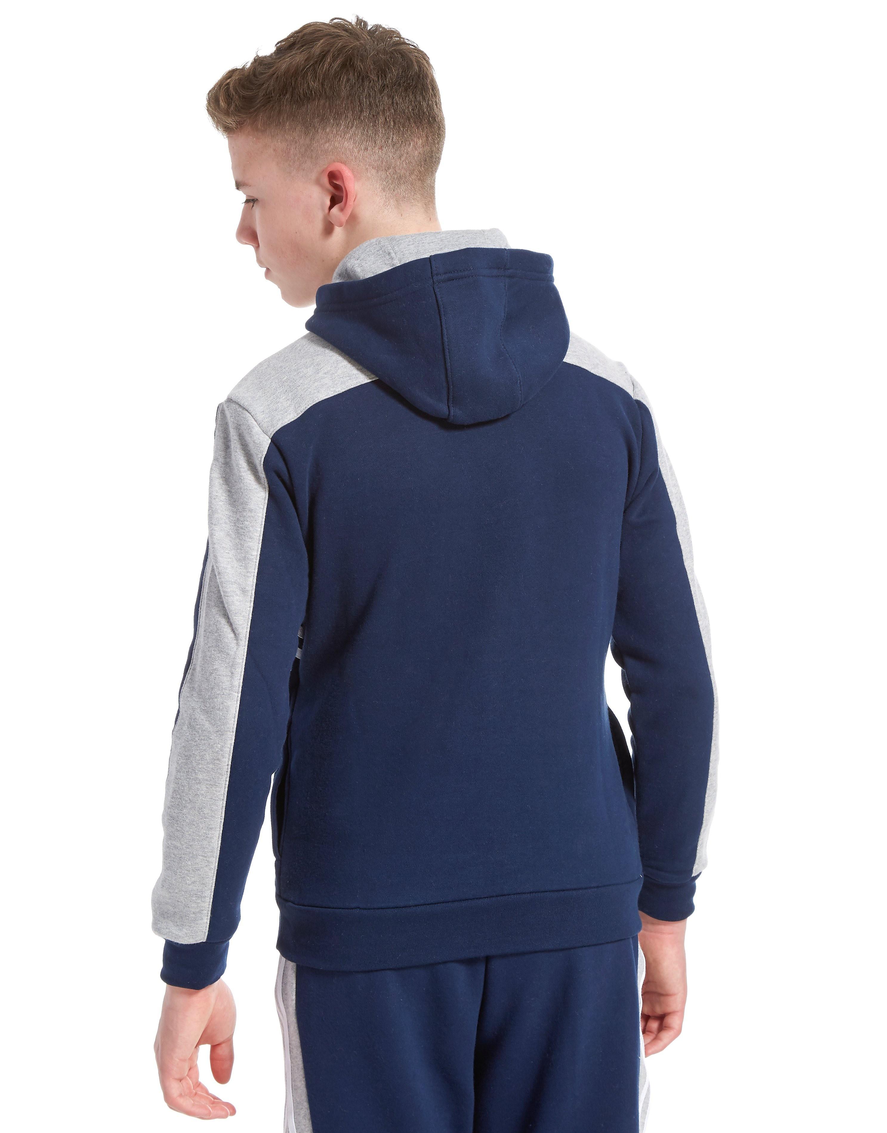 adidas Originals MOA Overhead Hoodie Junior Marineblau-Grau/Weiß