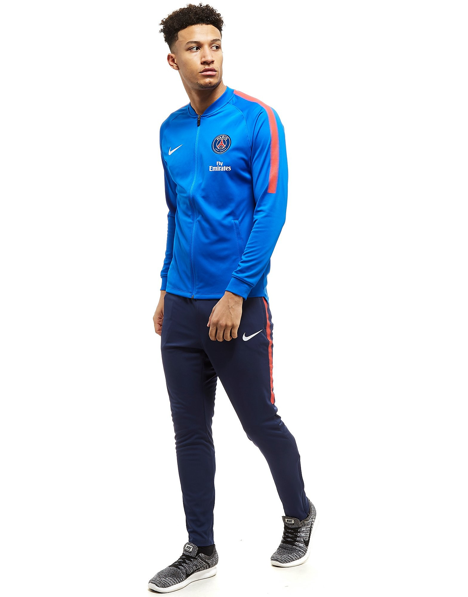 Nike Paris Saint Germain Squad Trainingsanzug Blau-Marineblau