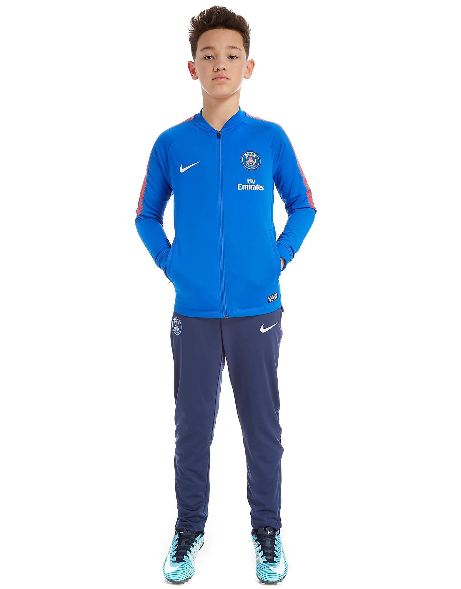 Nike Paris Saint Germain Squad Tracksuit Junior