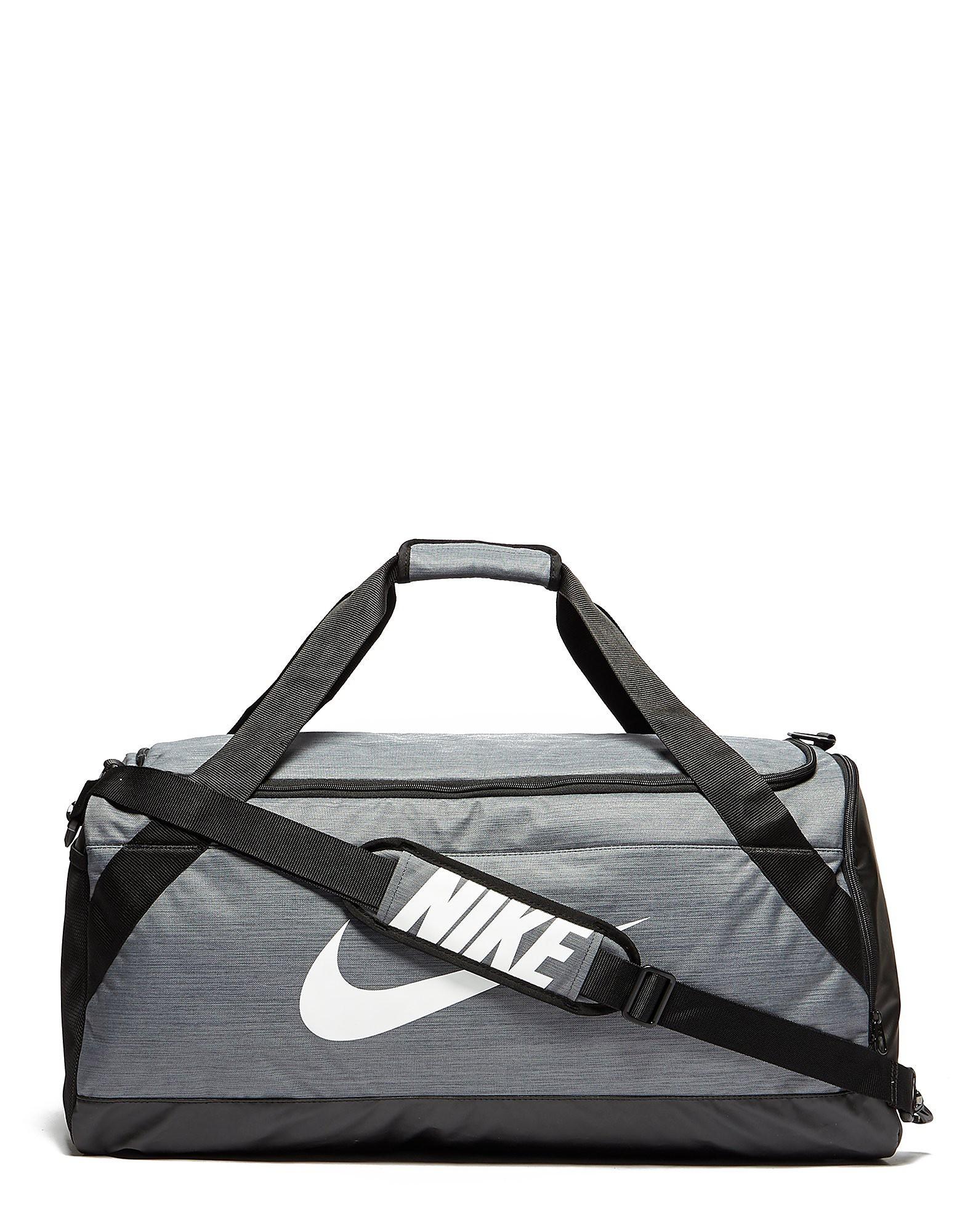 Nike Large Brasilia Tasche Grau-Schwarz