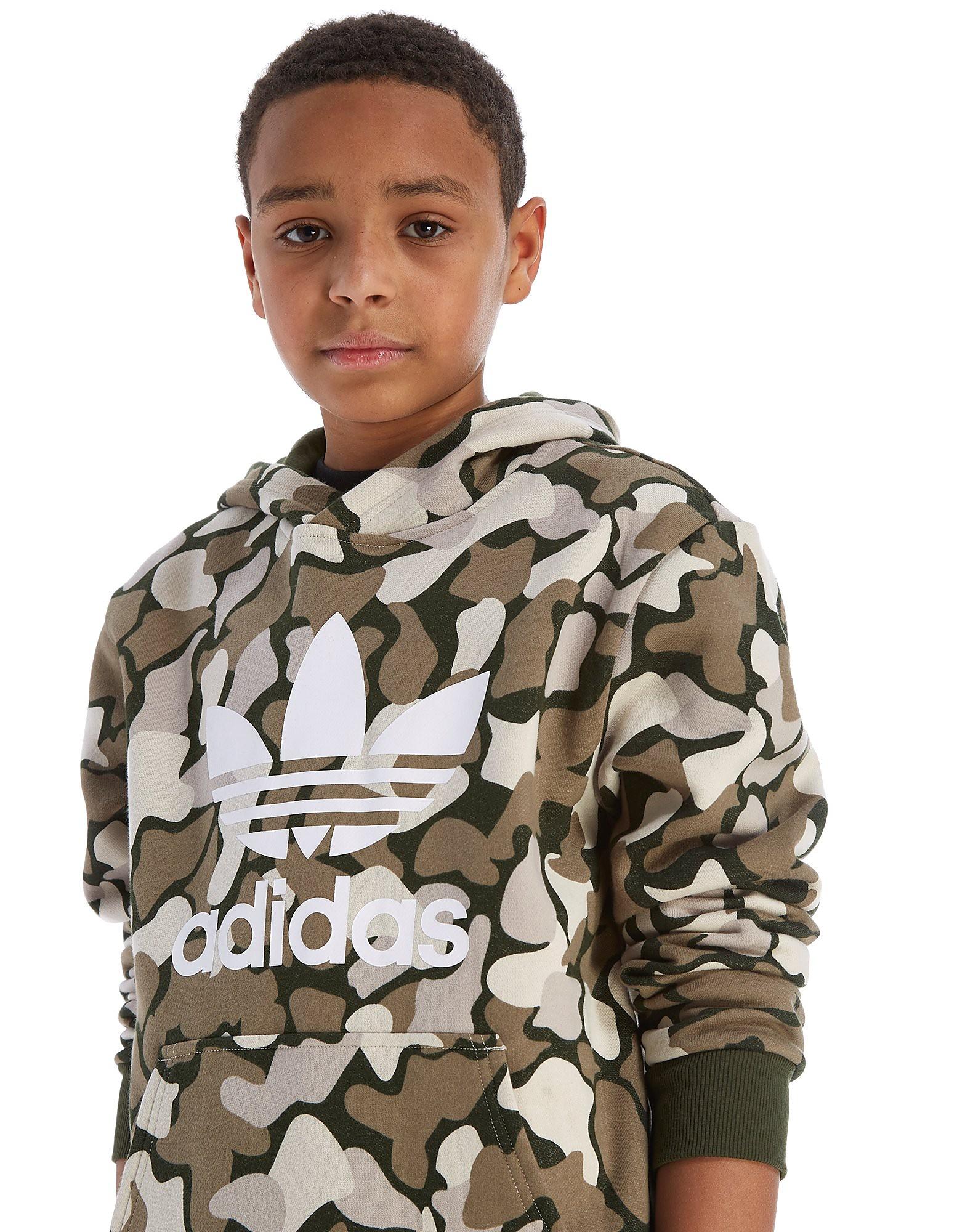 adidas Originals Camo Overhead Hoodie Junior