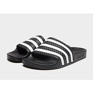 low priced a169f 94b24 adidas Originals Adilette Slides Womens adidas Originals Adilette Slides  Womens