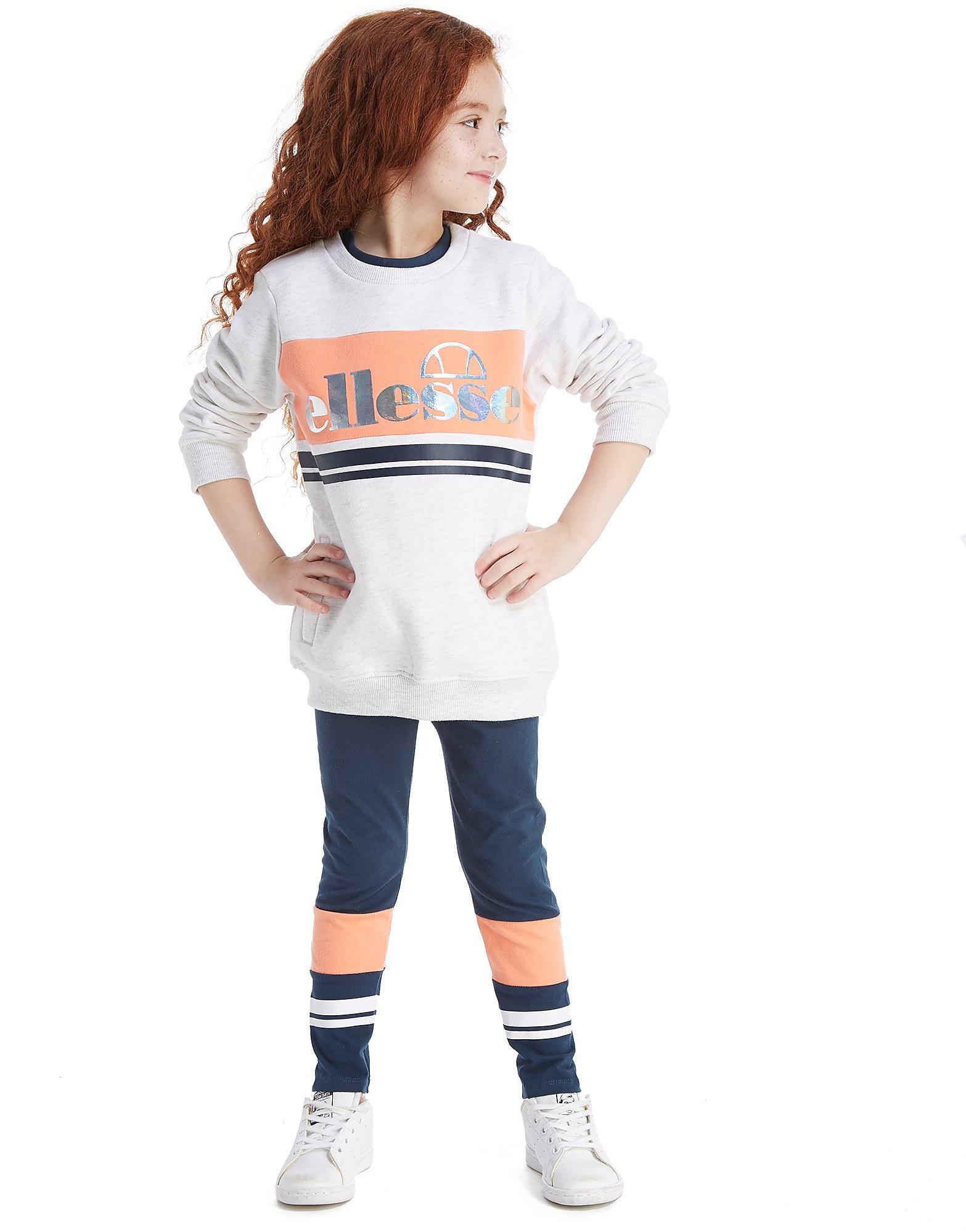 Ellesse Girls' Cricle Sweashirt/Leggings Set Kinder