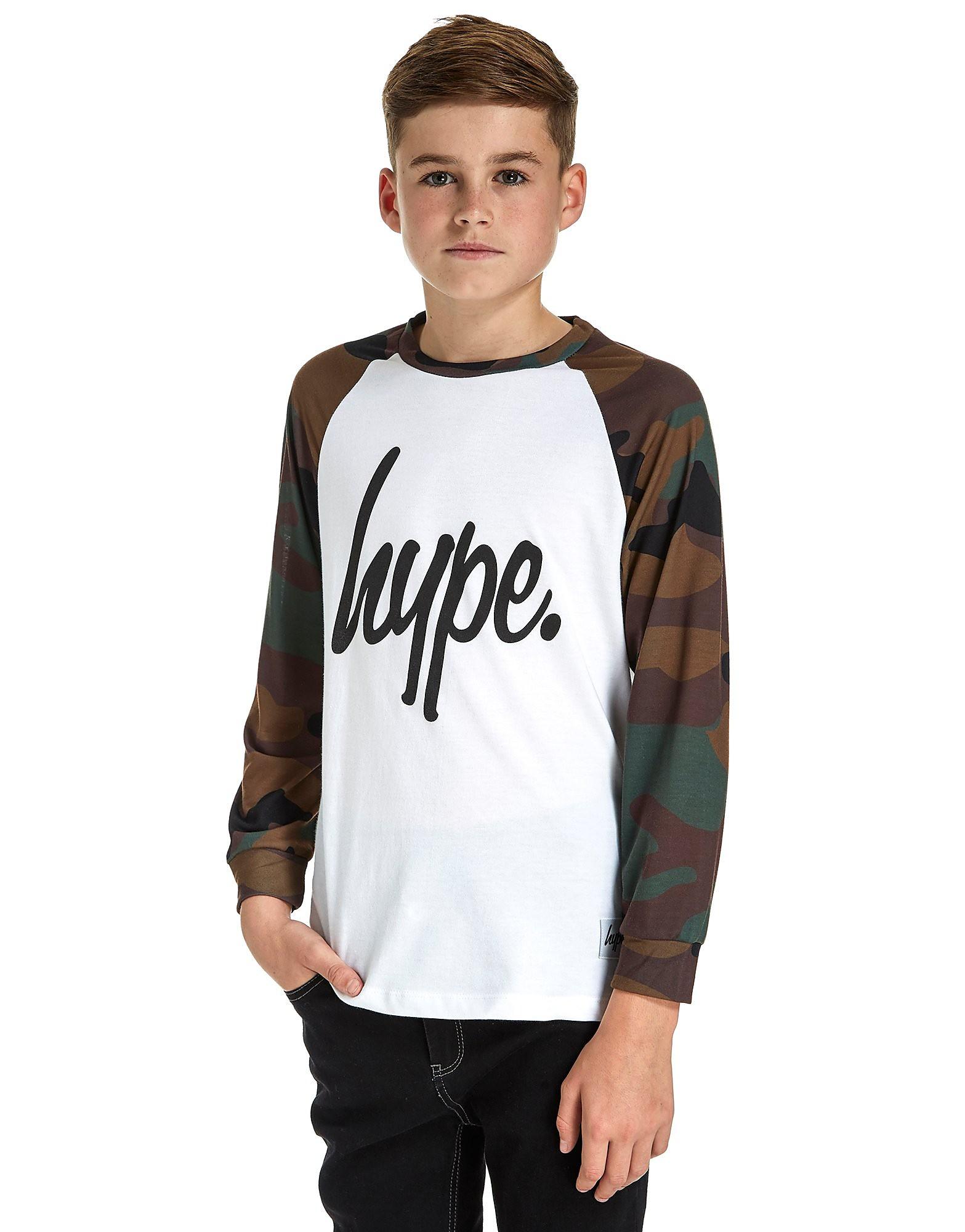 Hype  Langärmeliges Script T-Shirt Junior