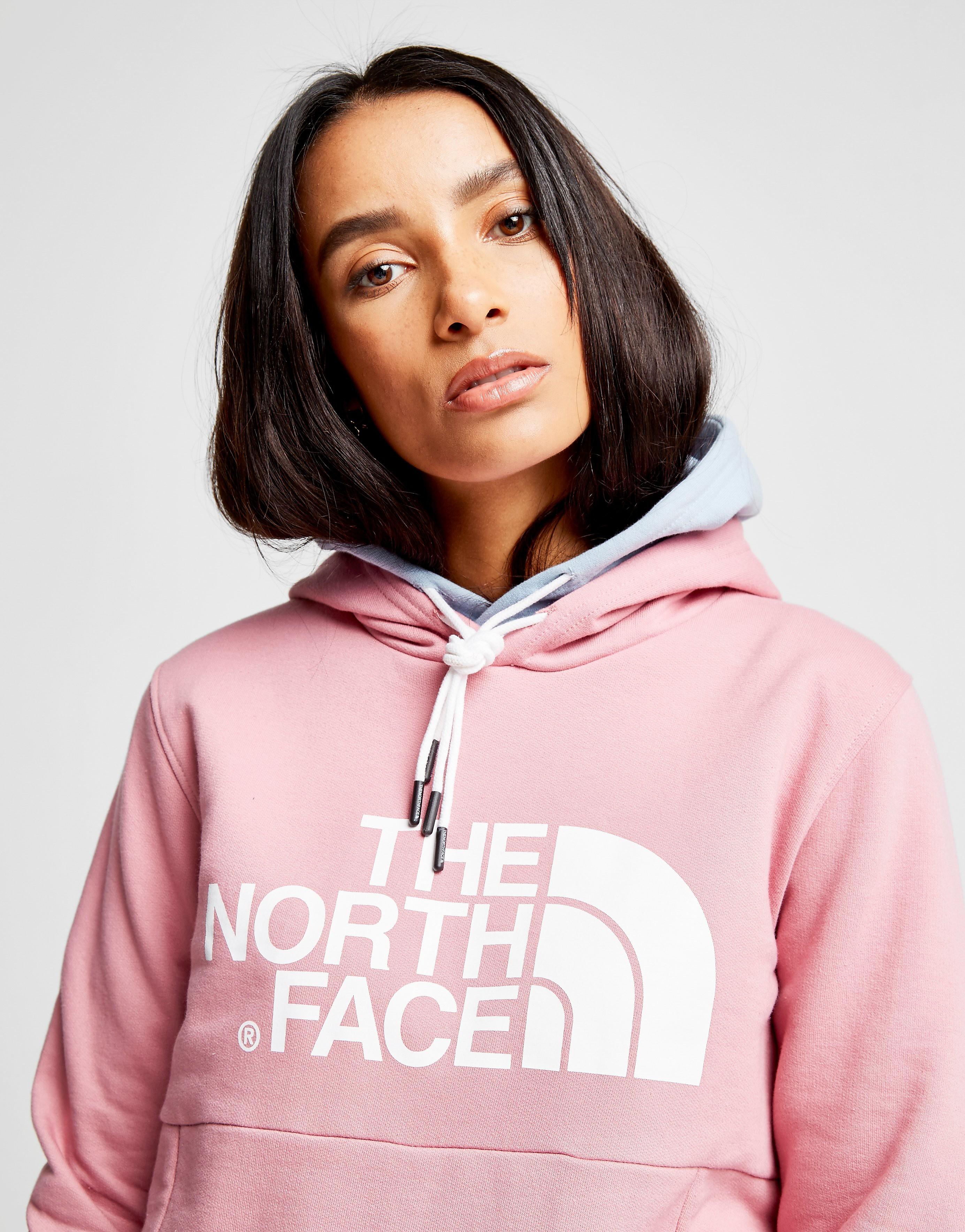 The North Face Drew Peak Kapuzenpullover Rosa-Weiß