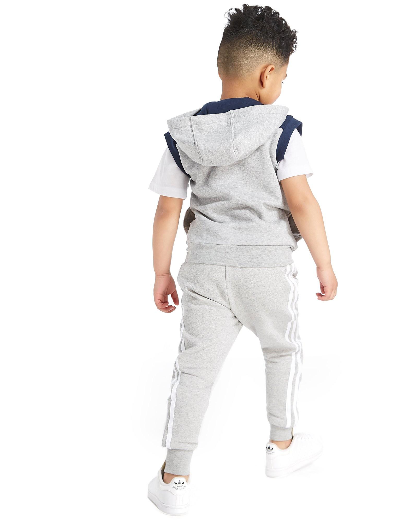 adidas Originals Sleeveless MOA Full Zip Hoodie Children