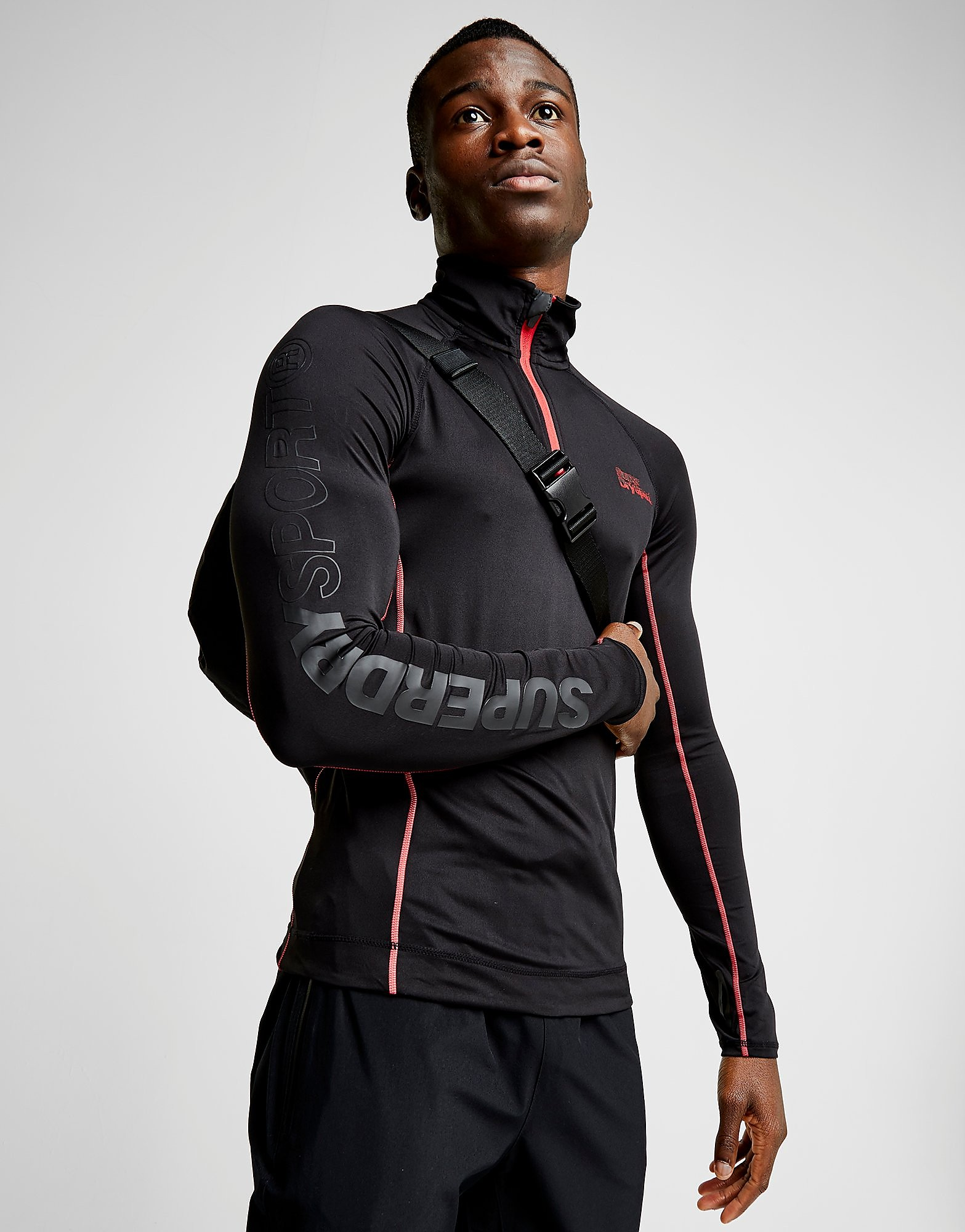 Superdry 1/2 Zip Long Sleeve Tech Top