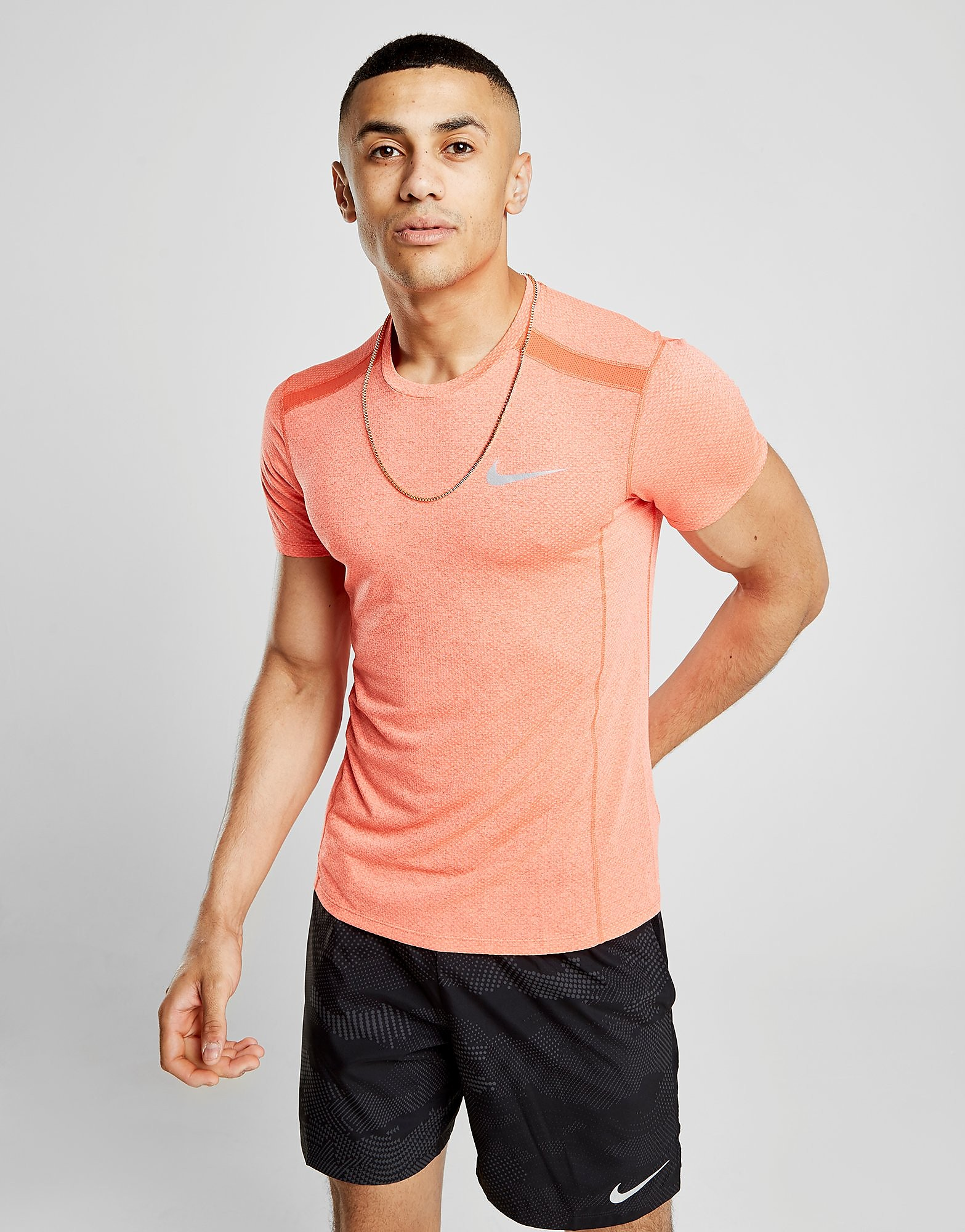 Nike Breathe Miler Short Sleeve T-Shirt