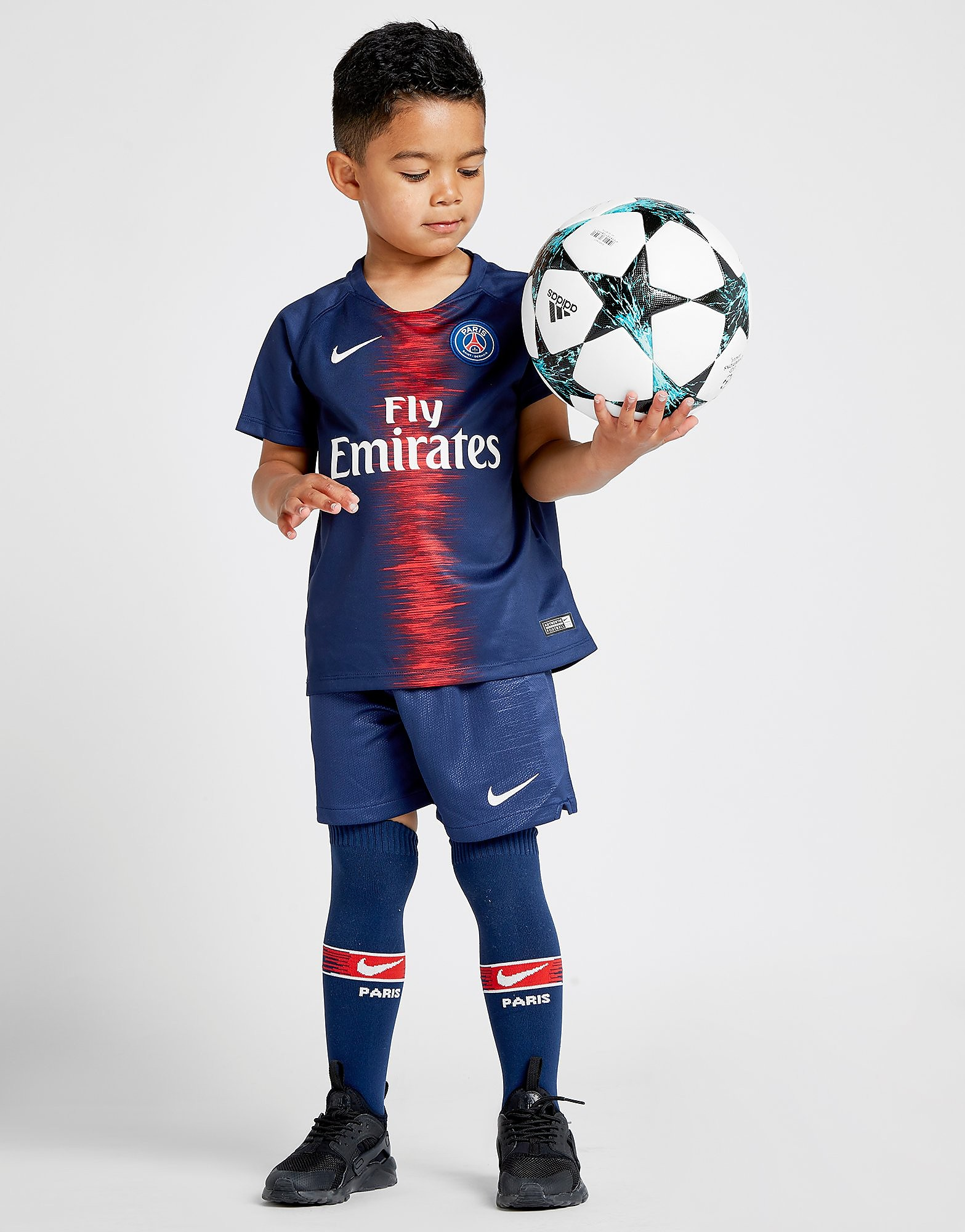 Nike Paris Saint Germain 2018/19 Home Kit Children