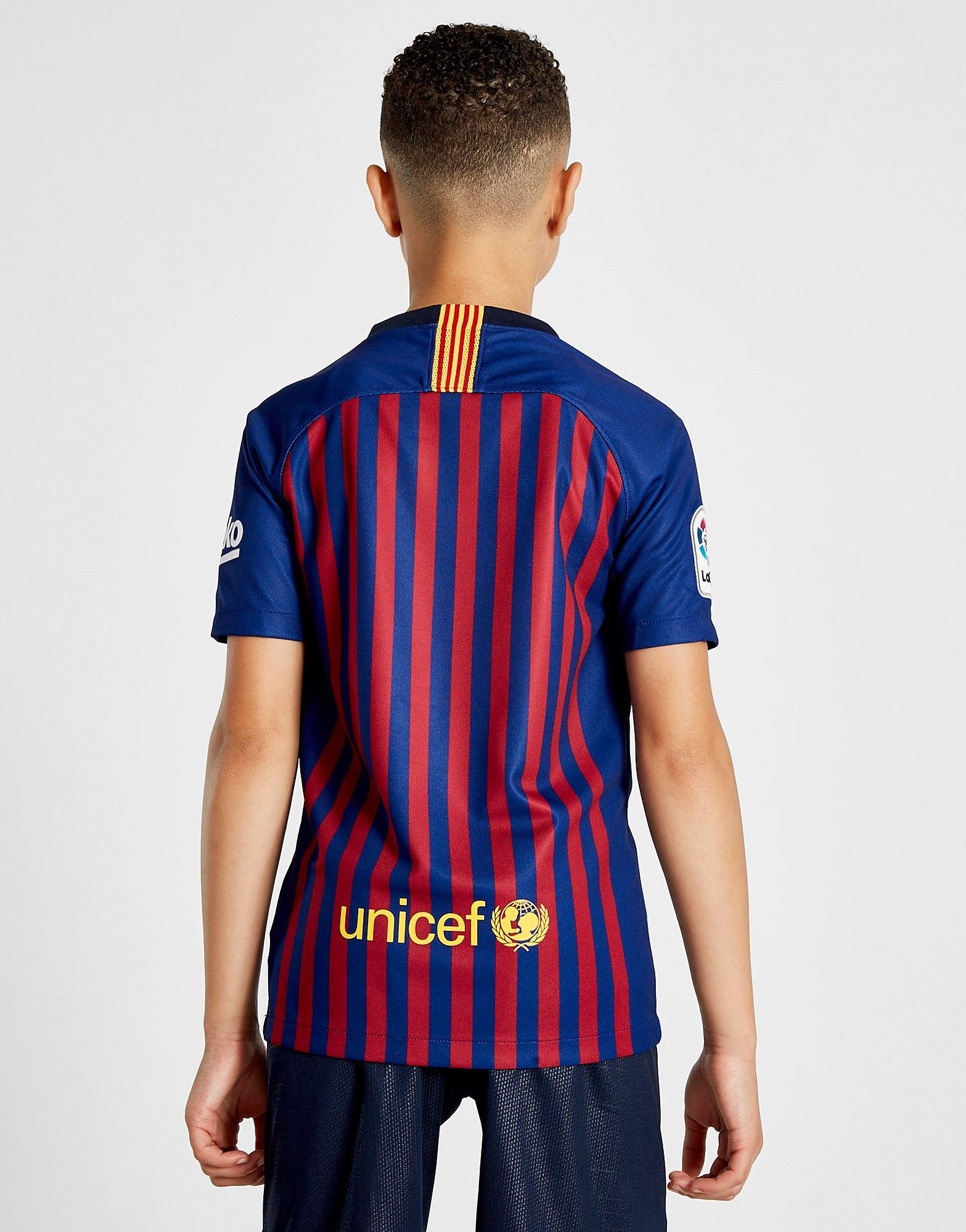 Nike FC Barcelona 2018/19 Home Shirt Junior