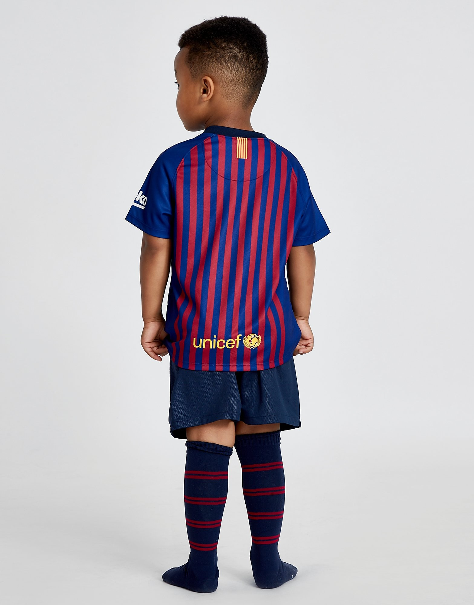 Nike FC Barcelona 2018/19 Home Kit Children