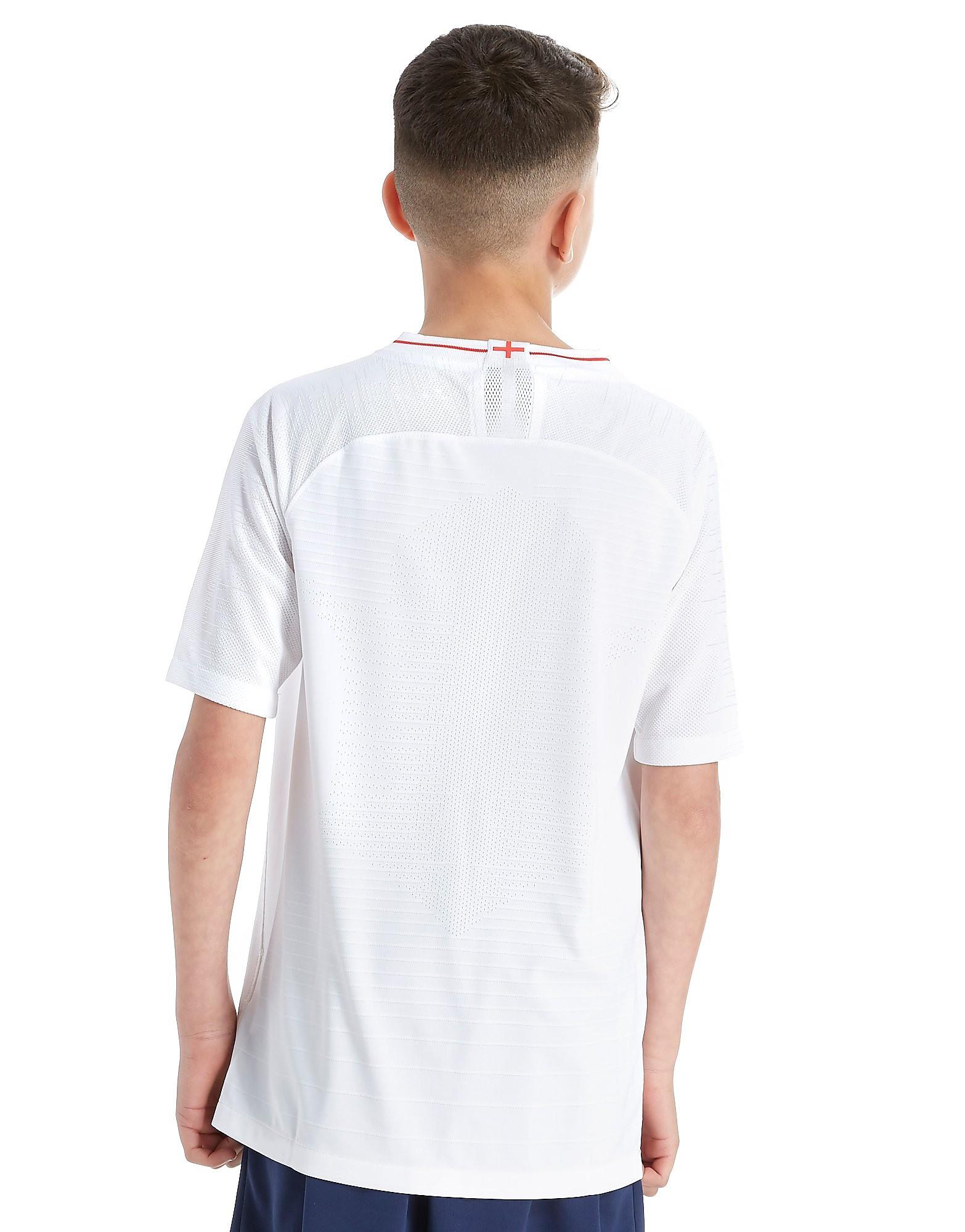 Nike England 2018 Home Vapor Shirt Junior