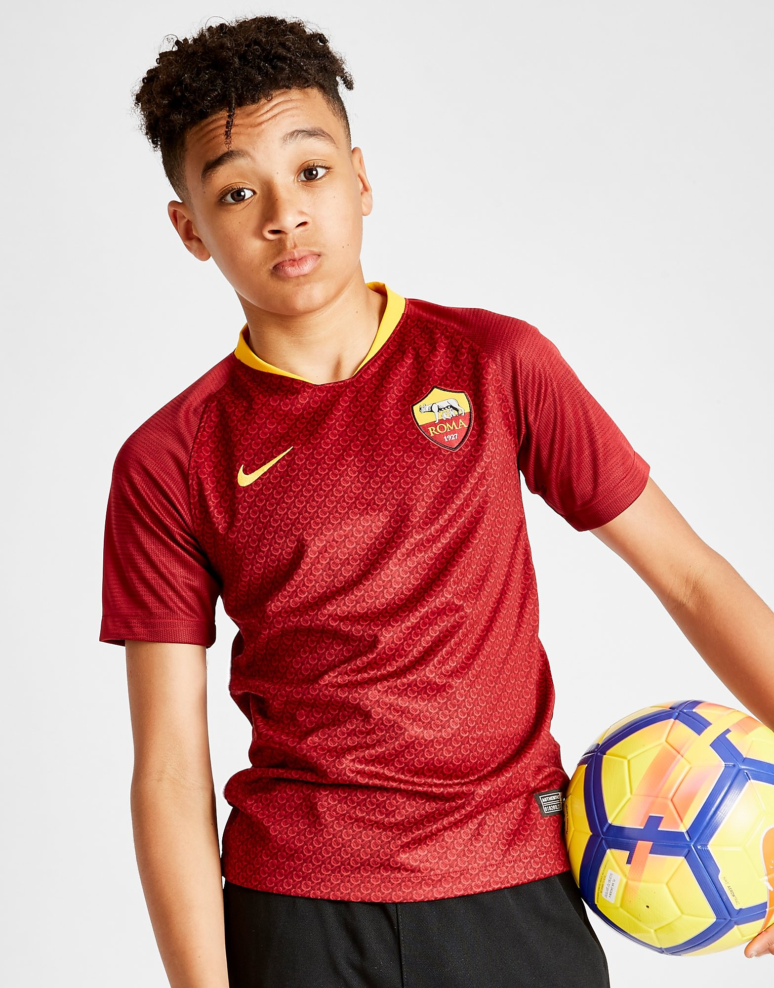 Nike AS Roma 2018/19 Home Shirt Junior