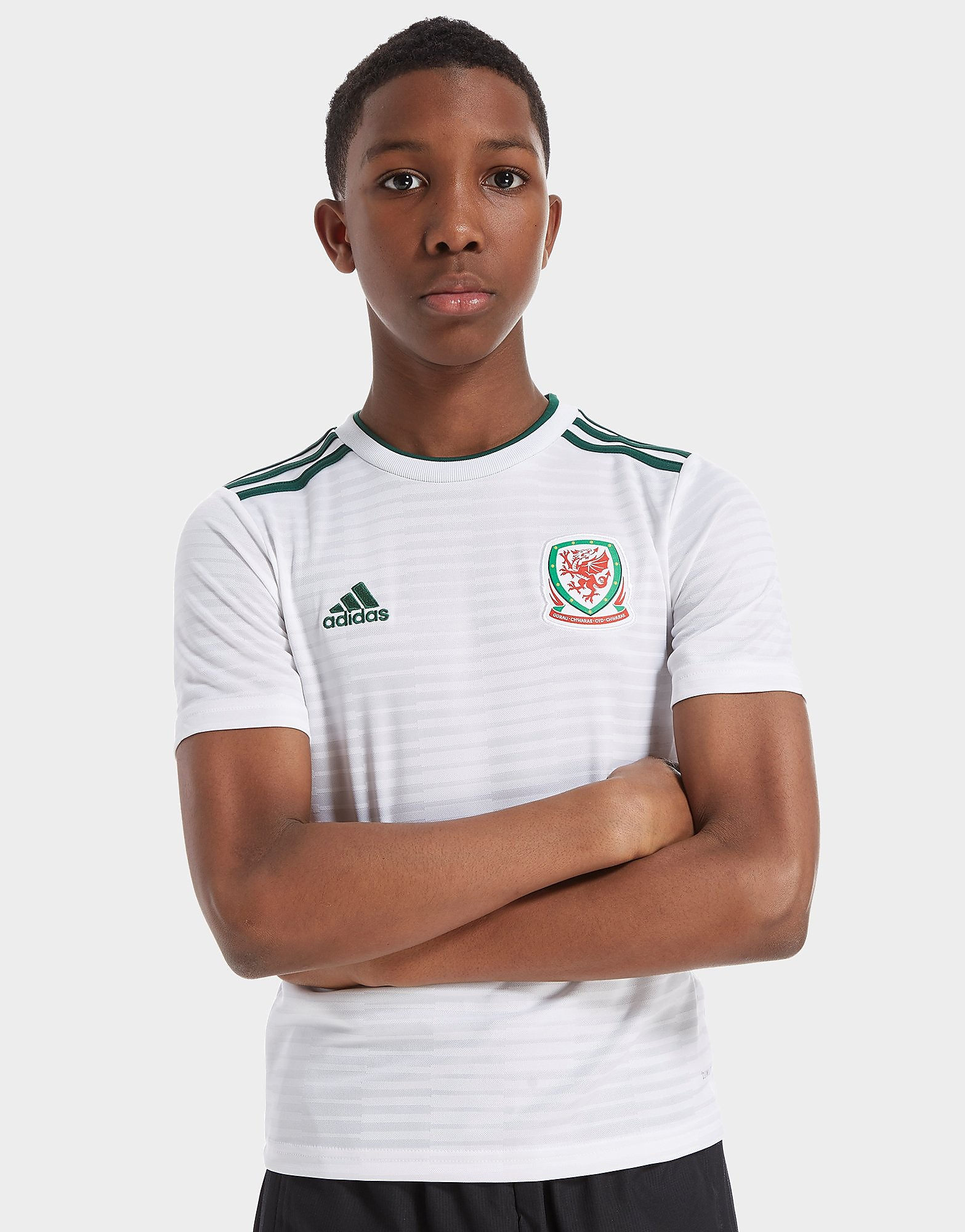 adidas Wales 2018/19 Away Shirt Junior