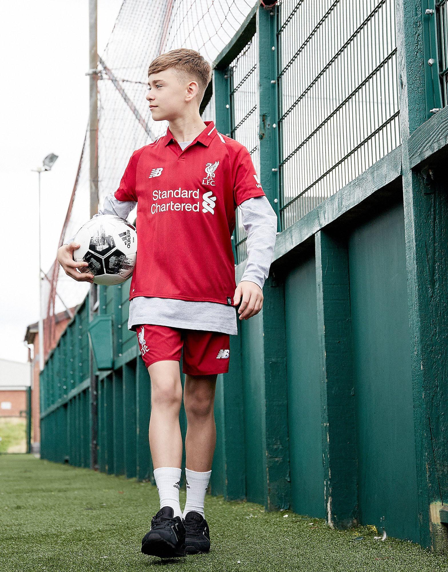 New Balance Liverpool FC 2018 Home Shorts Junior