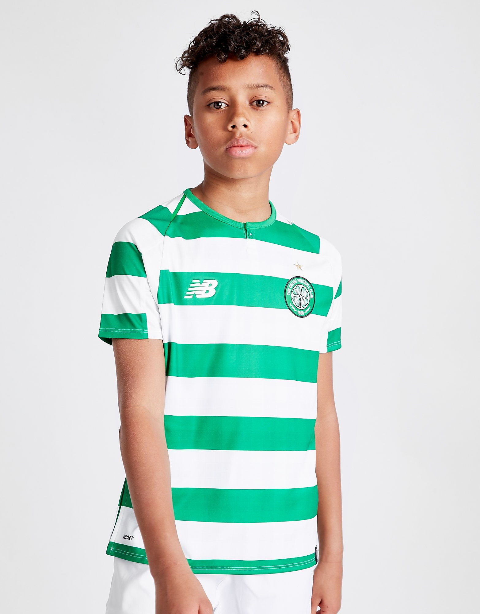 New Balance Celtic FC 2018/19 Home Shirt Junior