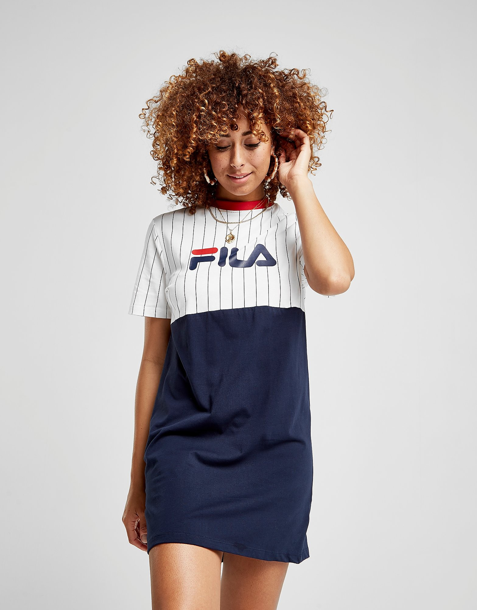 Fila Stripe T-shirt Dress