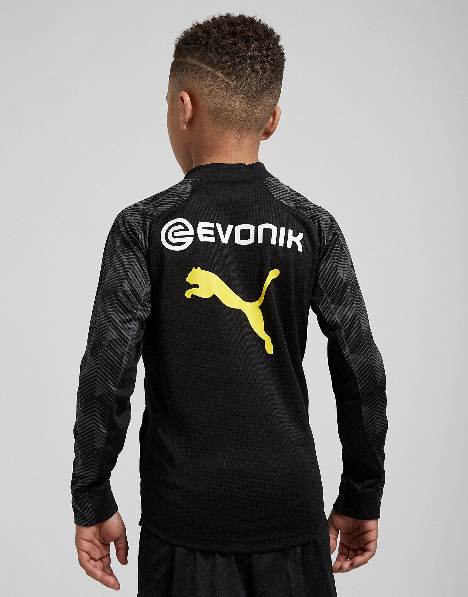 PUMA Borussia Dortmund 2018 1/4 RV Trainingstop Junior